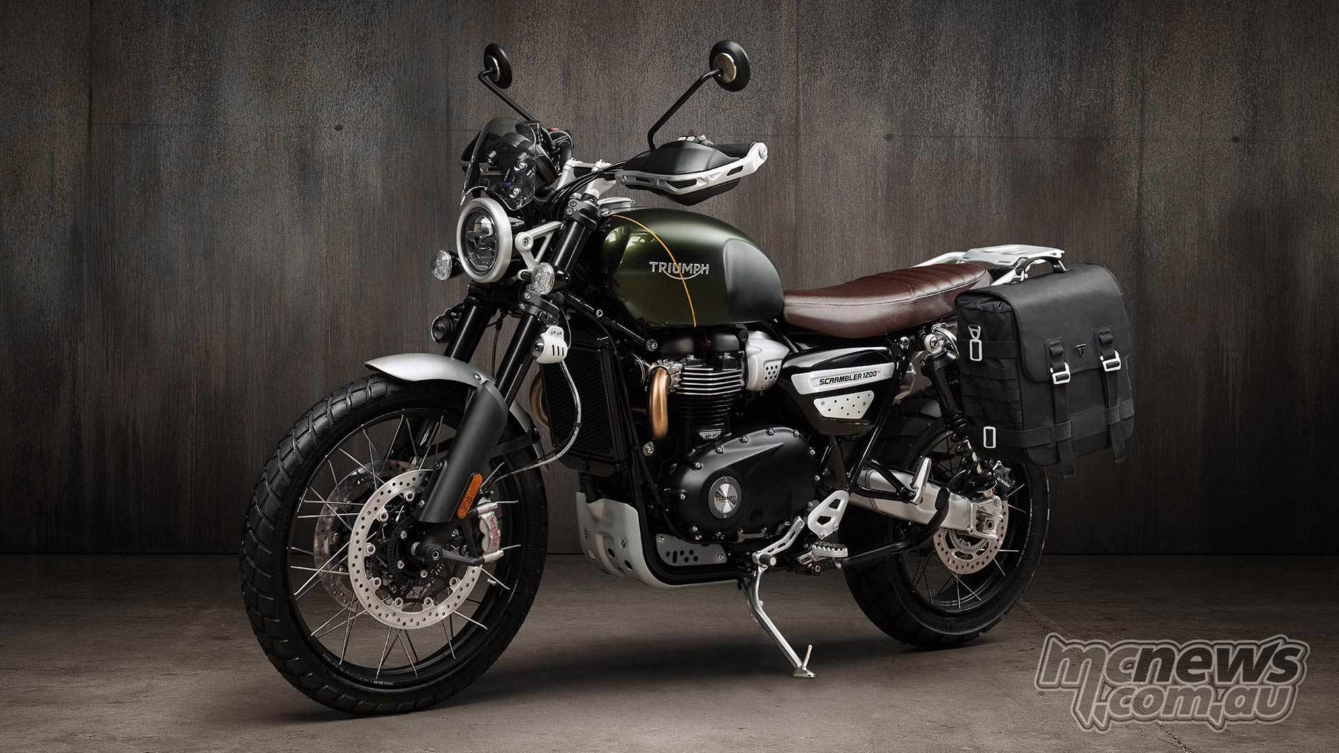 Triumph Scrambler XE Escape Kit