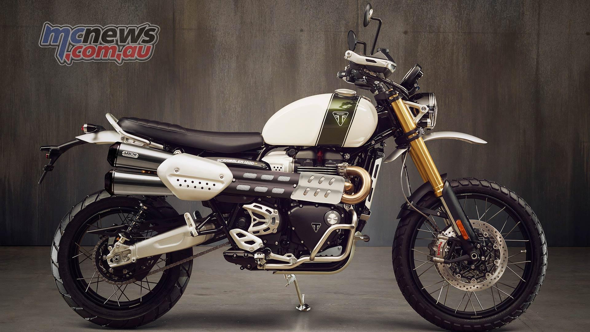 Triumph Scrambler XE Extreme kit