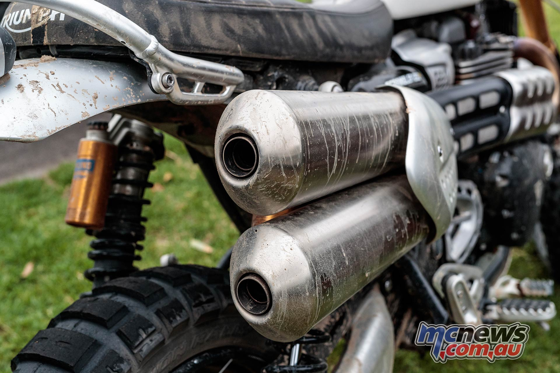 Triumph Scrambler XE Pipes