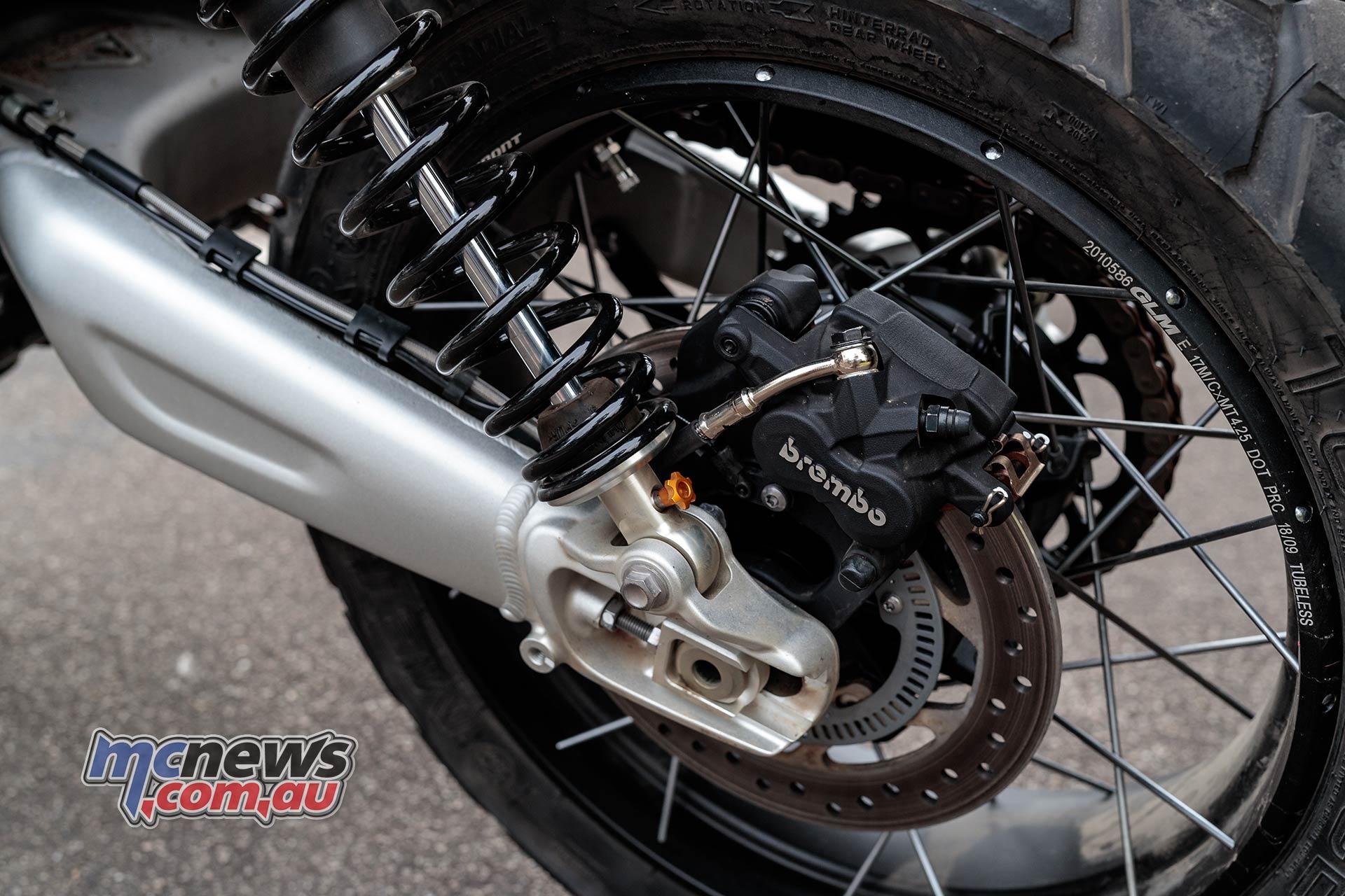 Triumph Scrambler XE Shocks