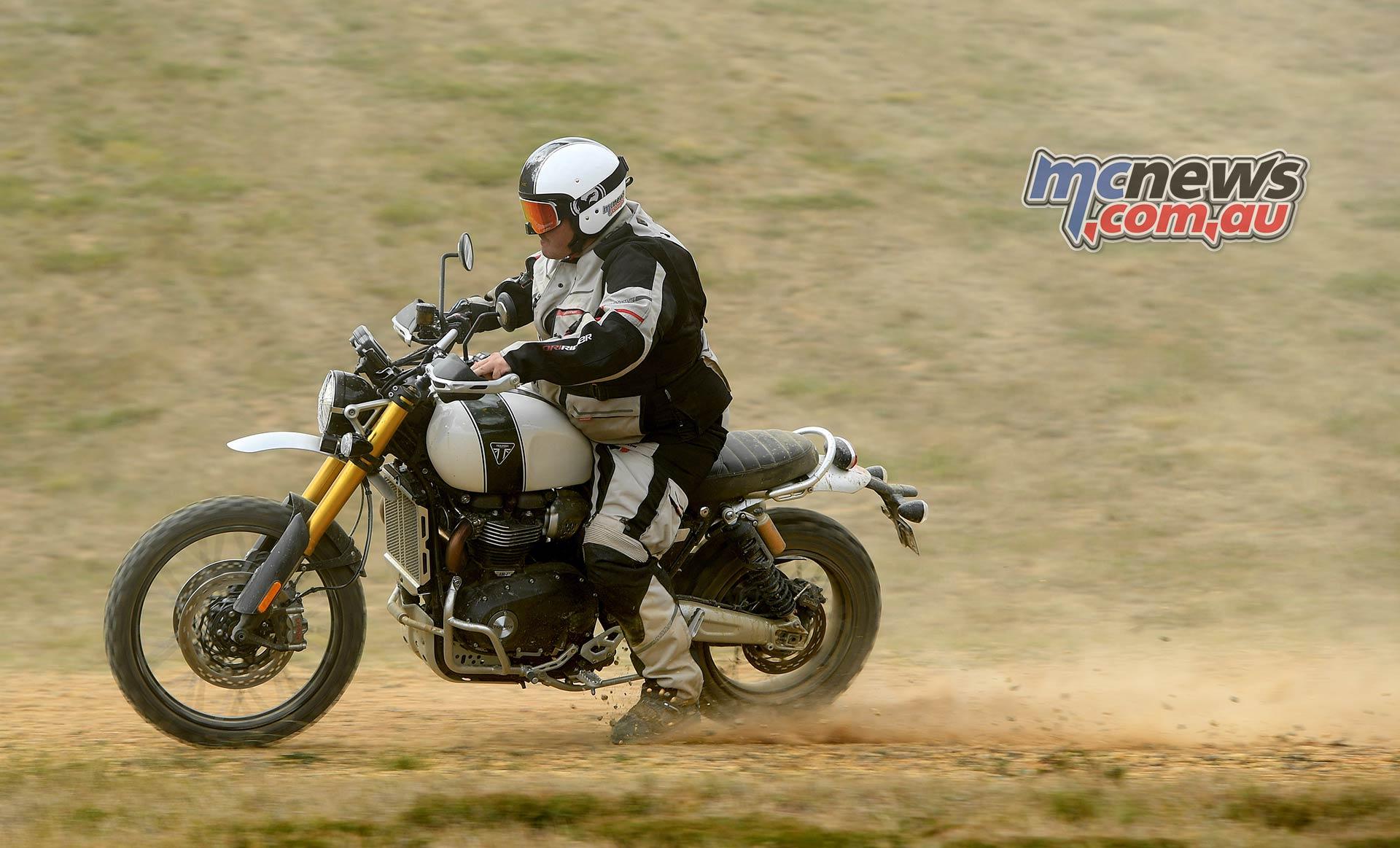 Triumph Scrambler XE Trev Dirt
