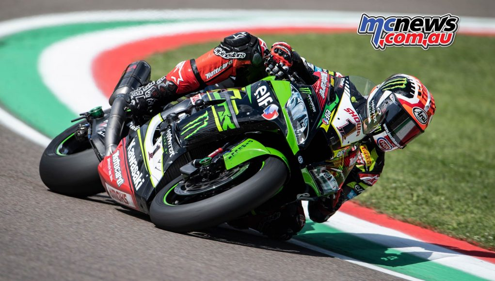 WSBK Rnd Imola Friday Rea