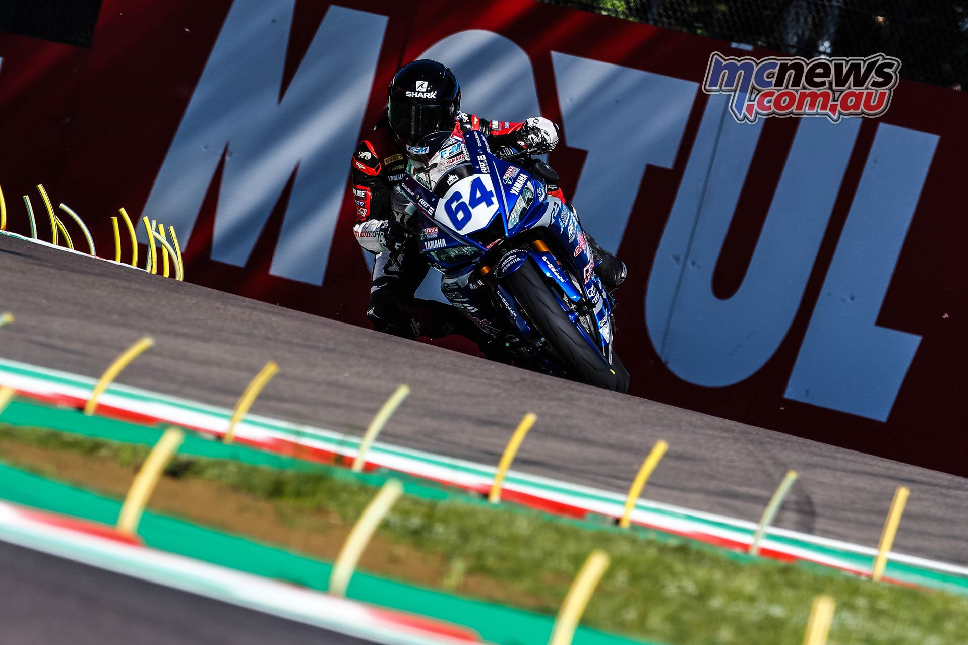 WSBK Rnd Imola Friday WorldSSP Friday Action De Cancellis