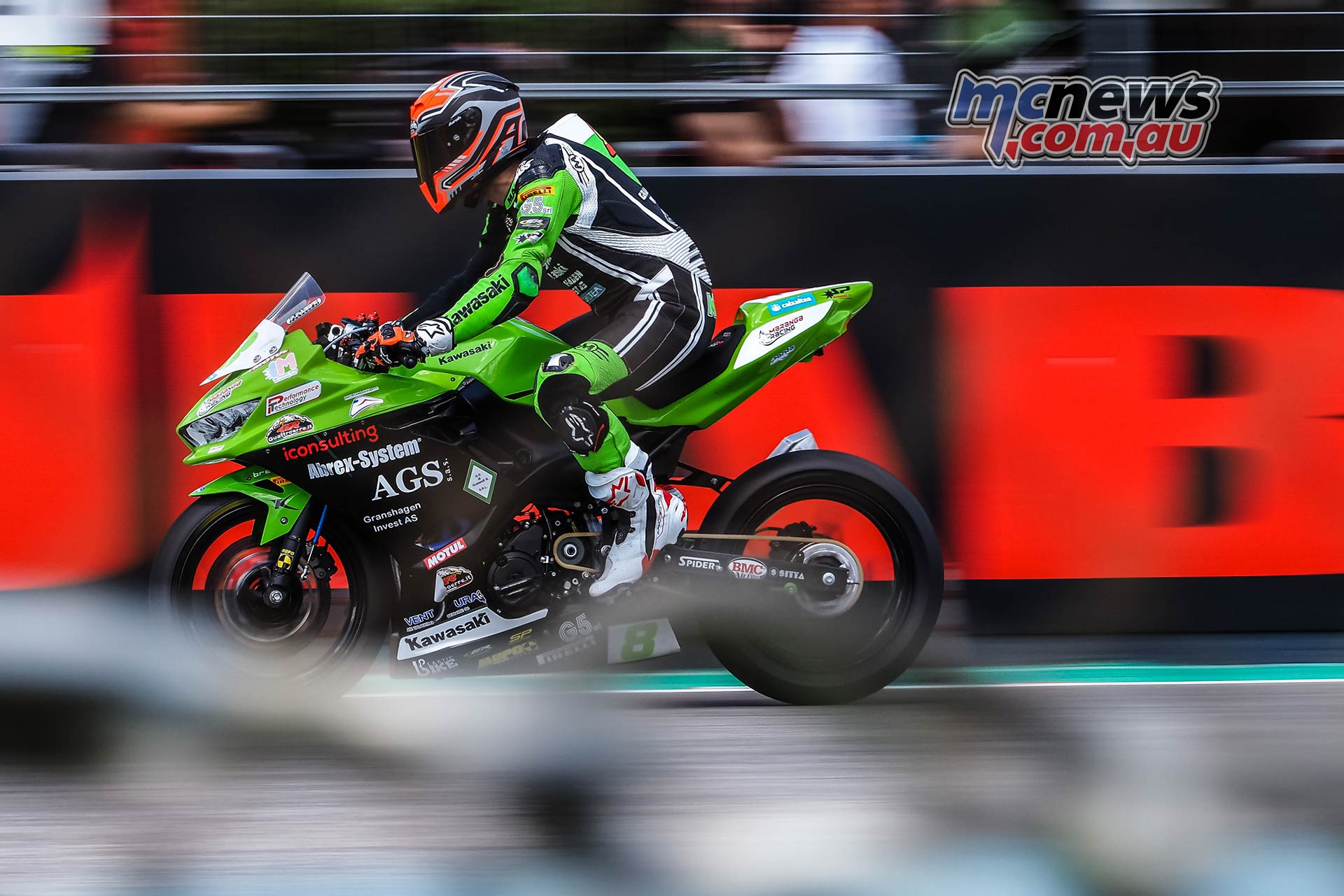 WSBK Rnd Imola Friday WorldSSP Friday Action Perez