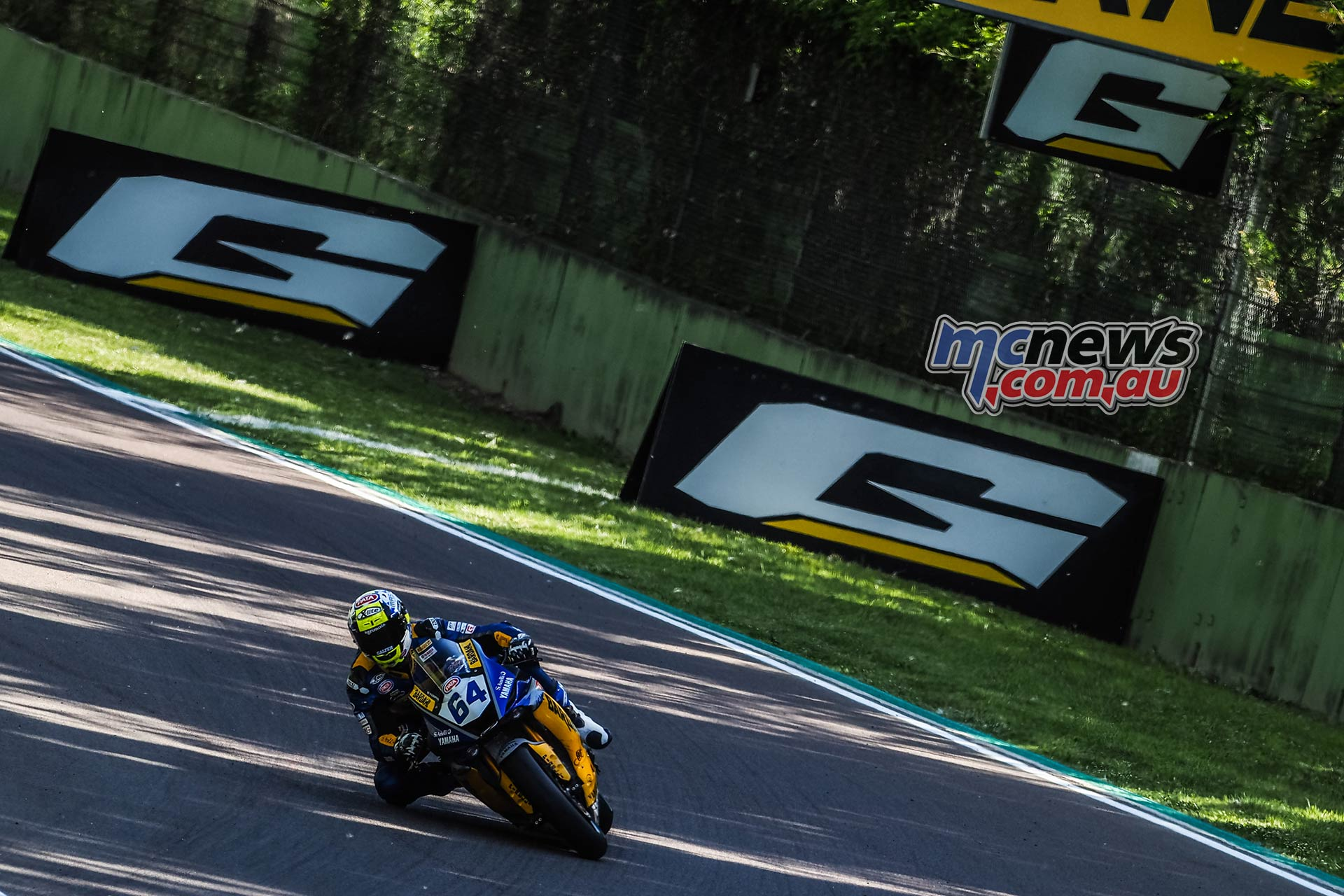 WSBK Rnd Imola Friday WorldSSP Friday Action Caricasulo