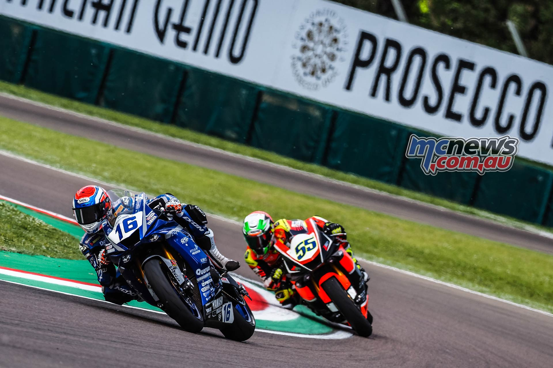 WSBK Rnd Imola Friday WorldSSP Friday Action Cluzel