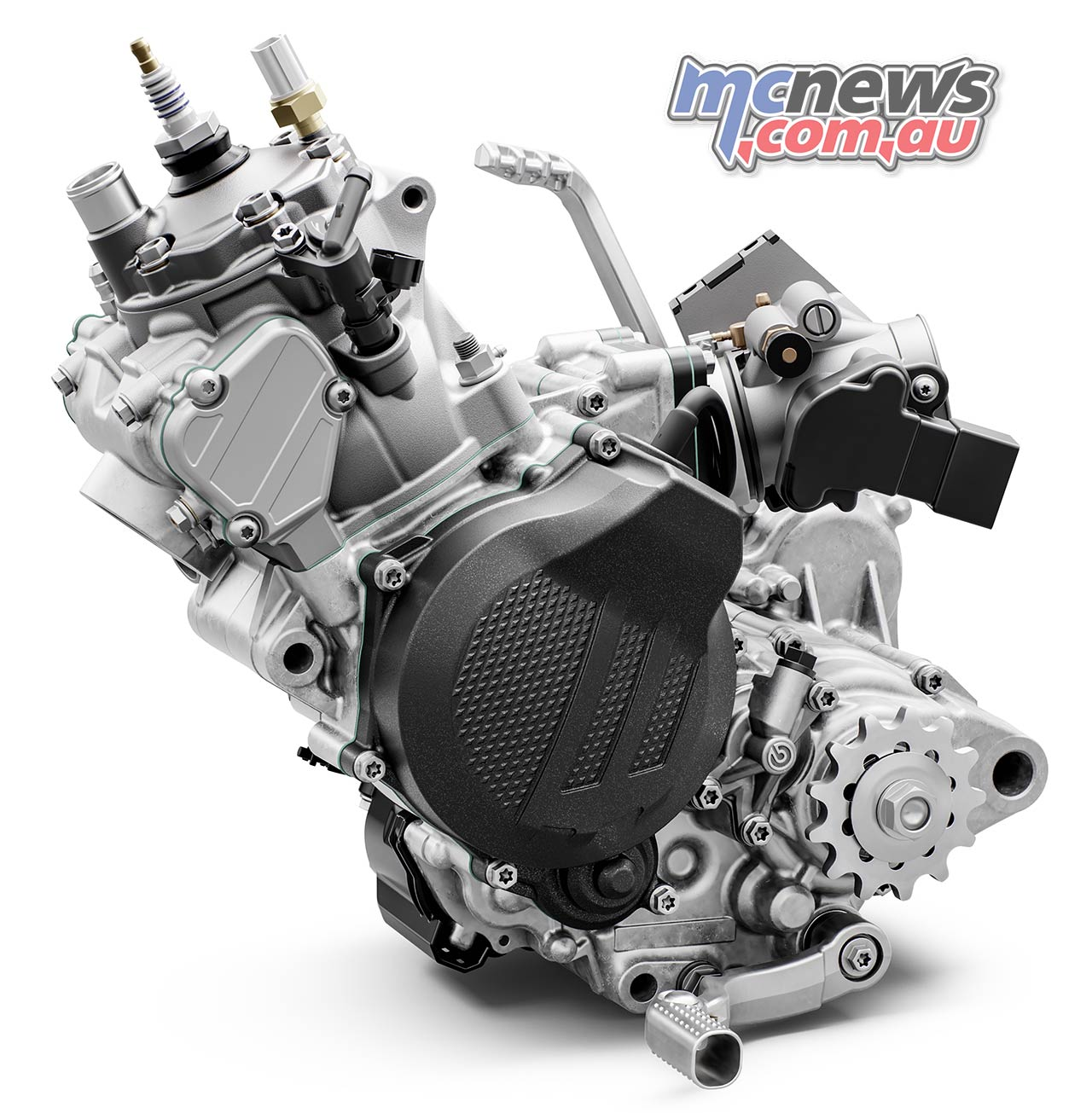 Enduro KTM EXC Engine Left