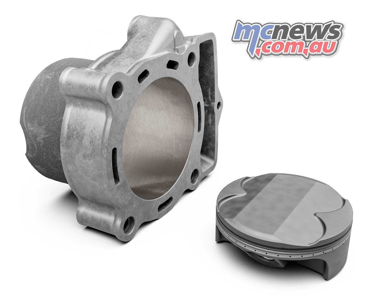 Enduro KTM EXC F Cylinder Piston