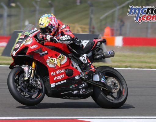 BSB Donington Rnd Fri Josh Brookes Australia Be Wiser Ducati AROA