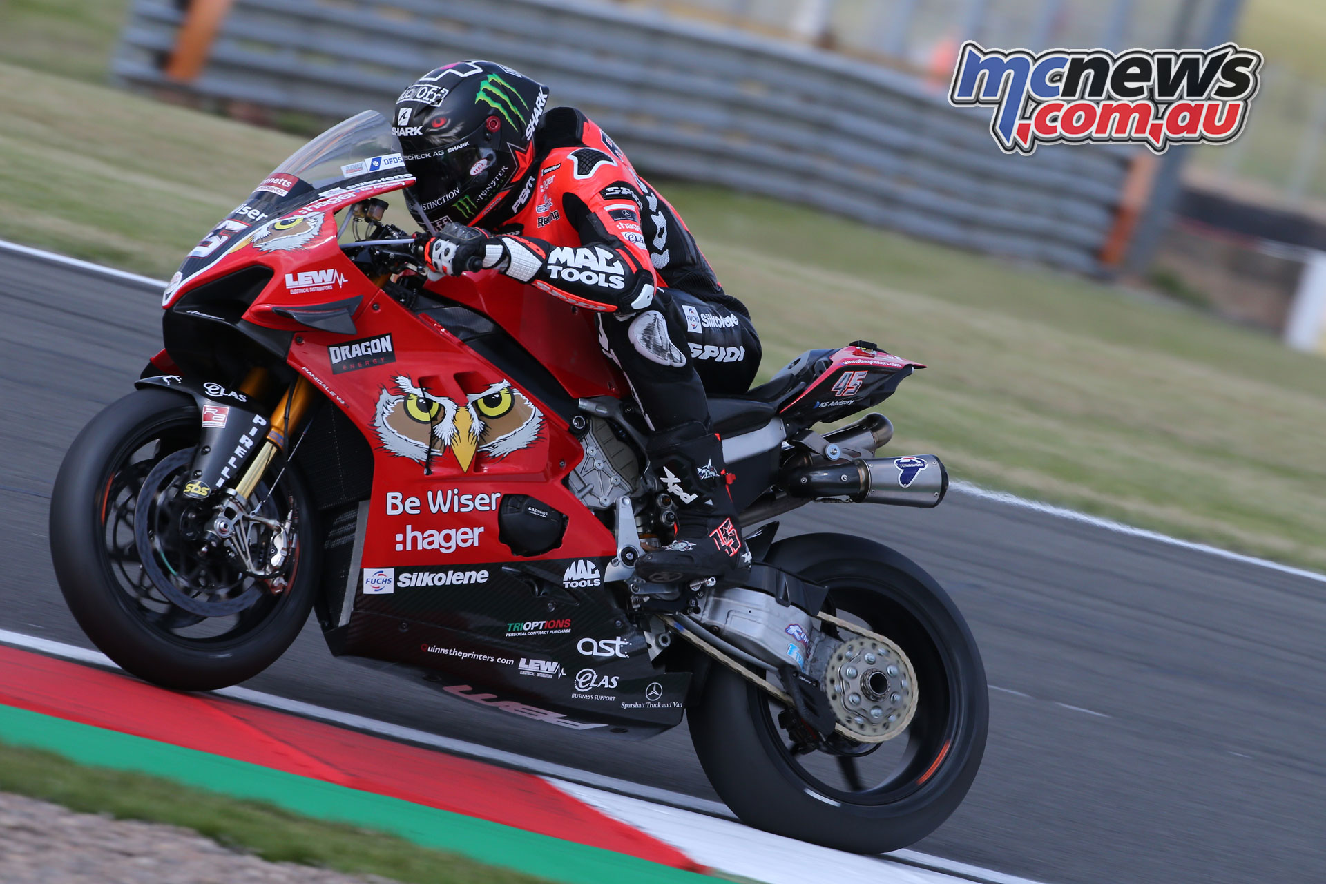 BSB Donington Rnd Fri Scott Redding Be Wiser Ducati AROA