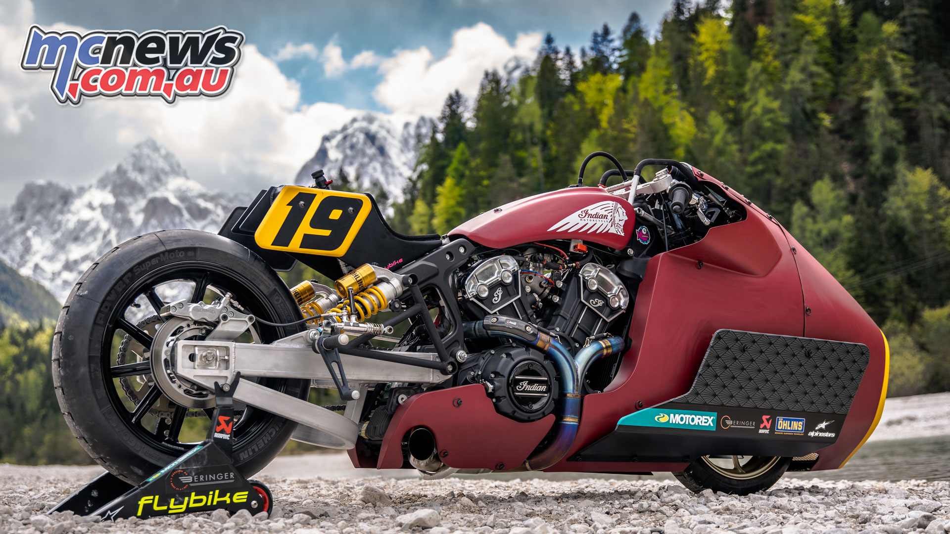 Mamola to race Sultans of Sprint on custom Scout Bobber