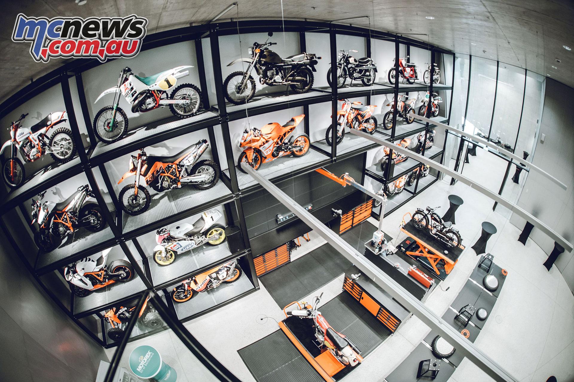 KTM Motohall opening