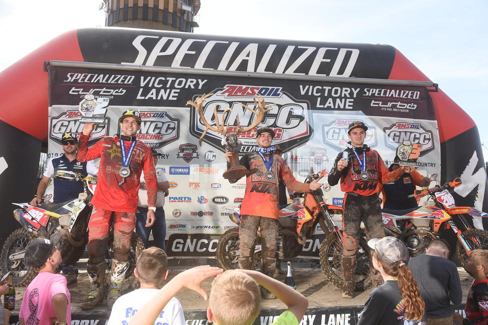 Kailub Russell X Factor Whitetails GNCC win