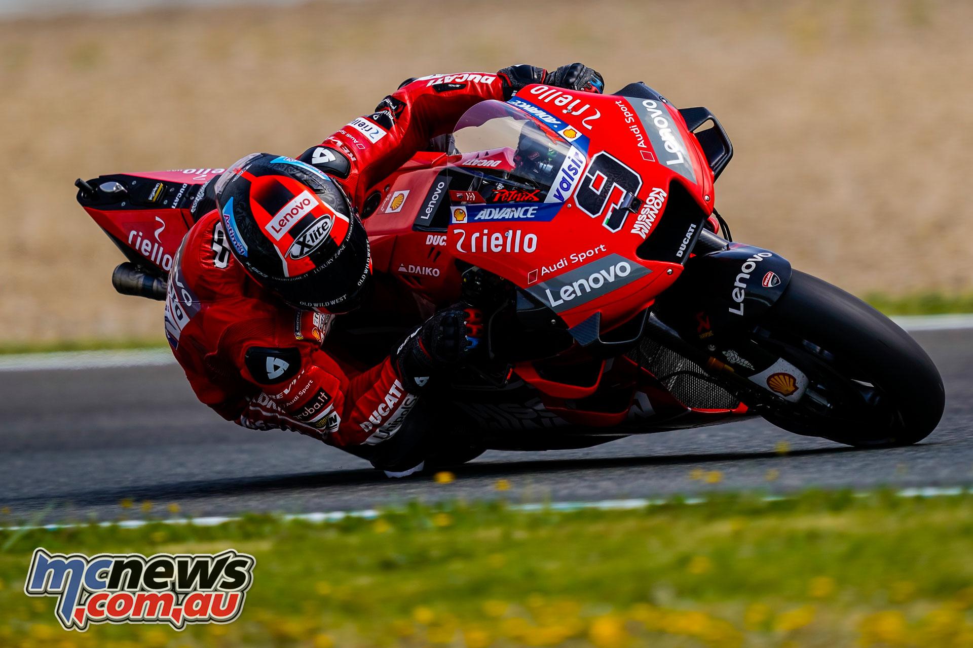 MotoGP Jerez Test Danilo Petrucci