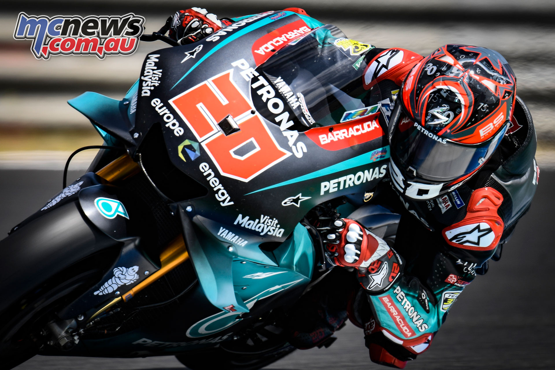 Fabio Quartararo Fastest At Jerez Official Test Miller P13 Motorcycle News Sport And Reviews