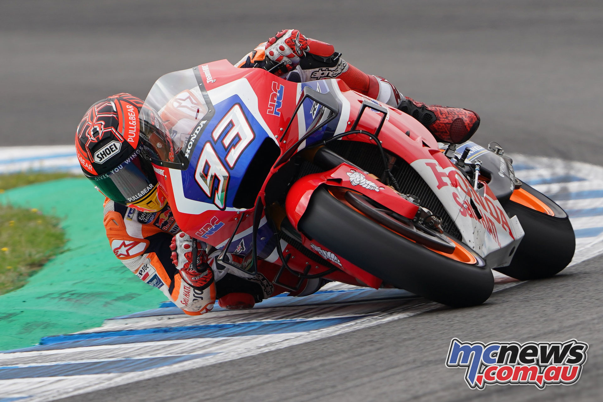 MotoGP Jerez Test Marquez on Bradls bike