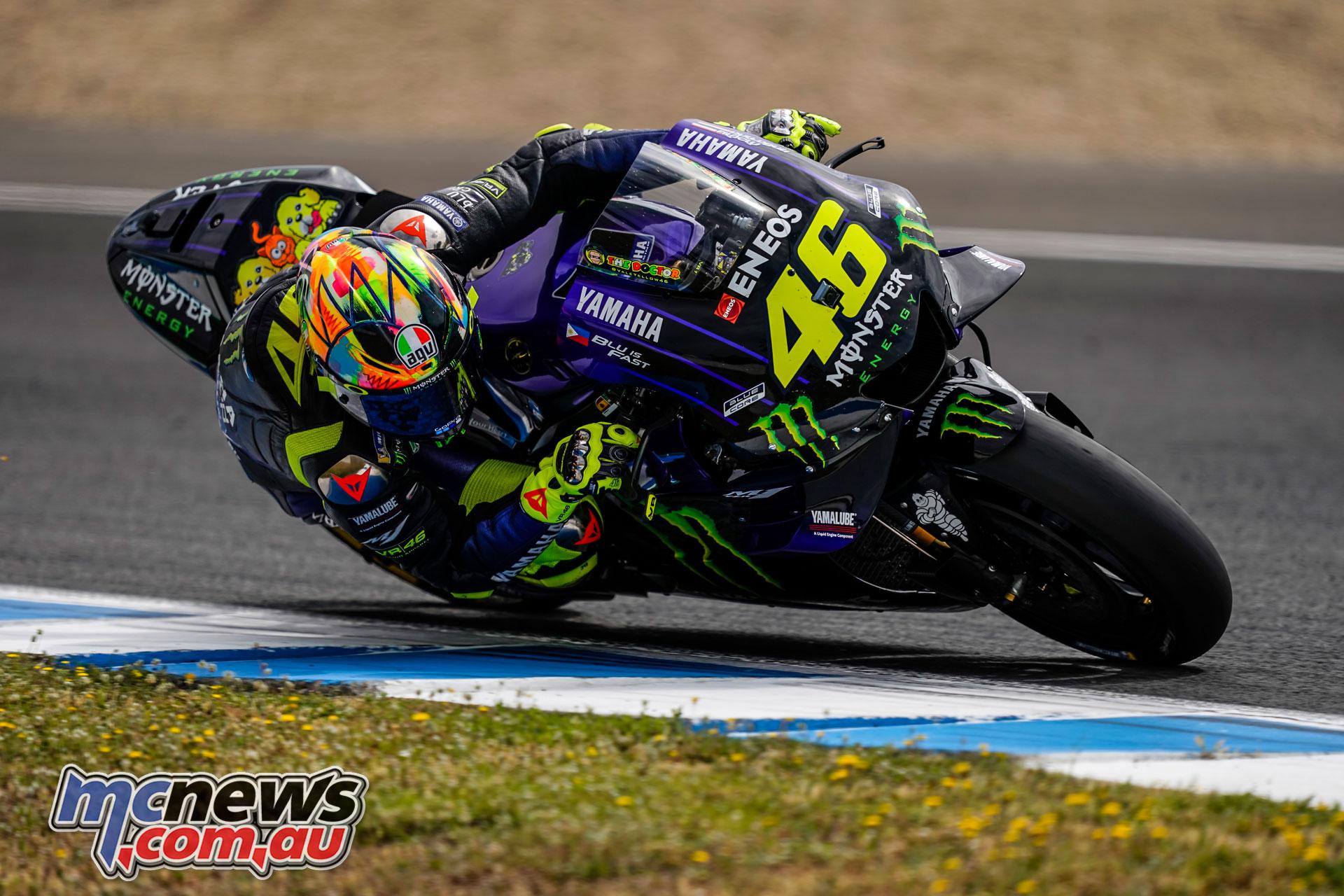 MotoGP Jerez Test Rossi