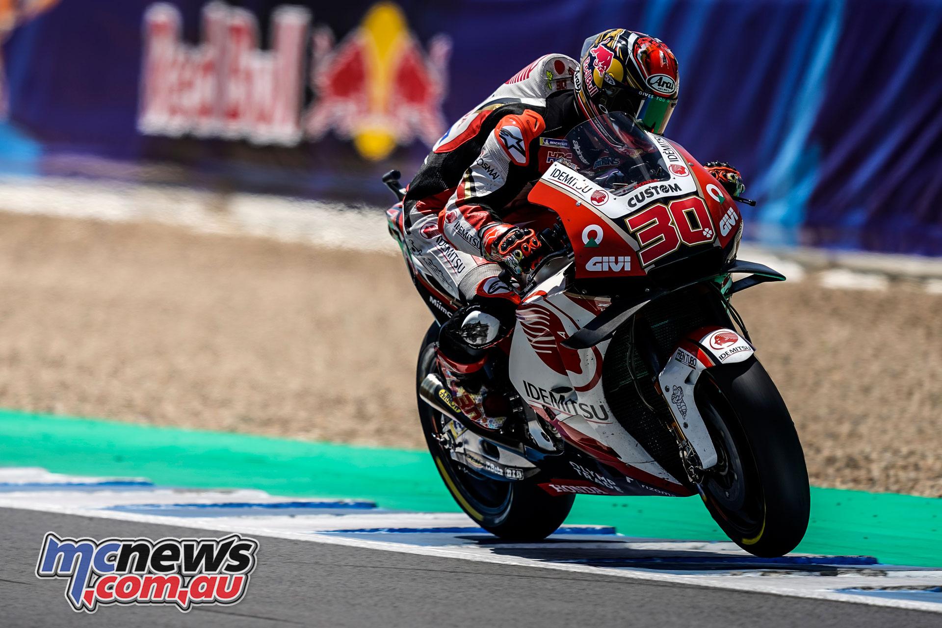 MotoGP Jerez Test Takaaki Nakagami AX