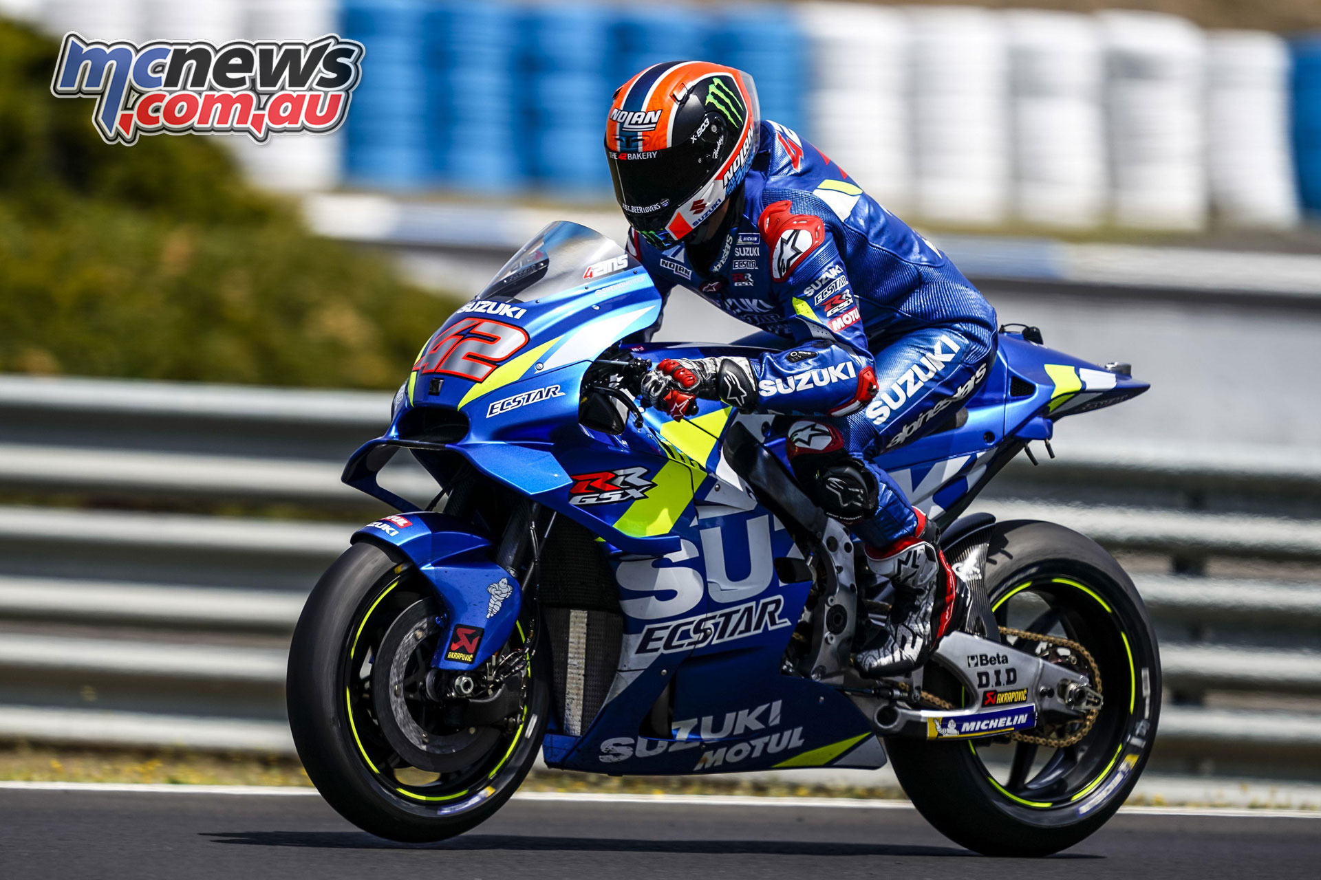 MotoGP Jerez Test alex rins
