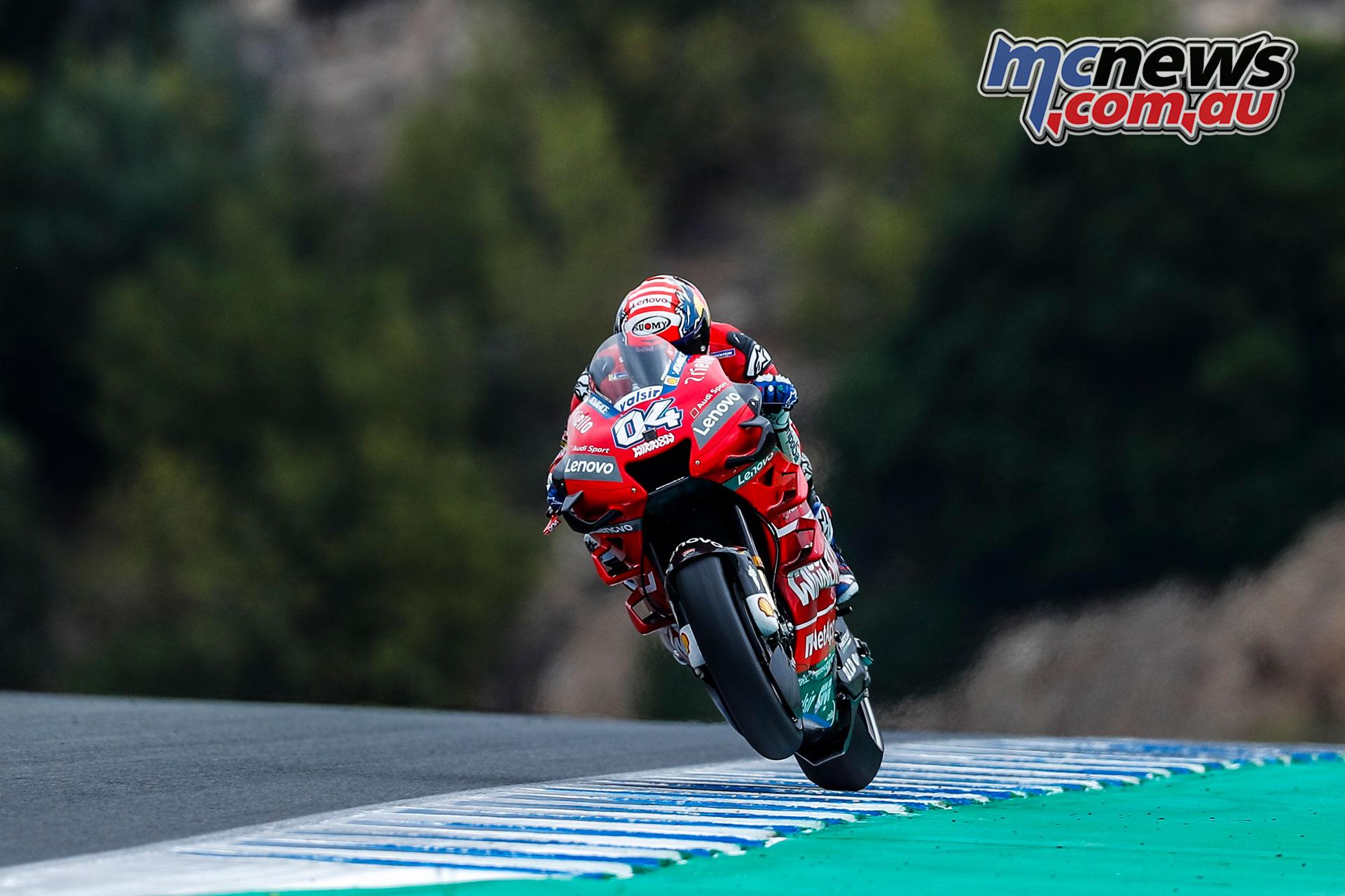 MotoGP Rnd Jerez Sat Andrea Dovizioso