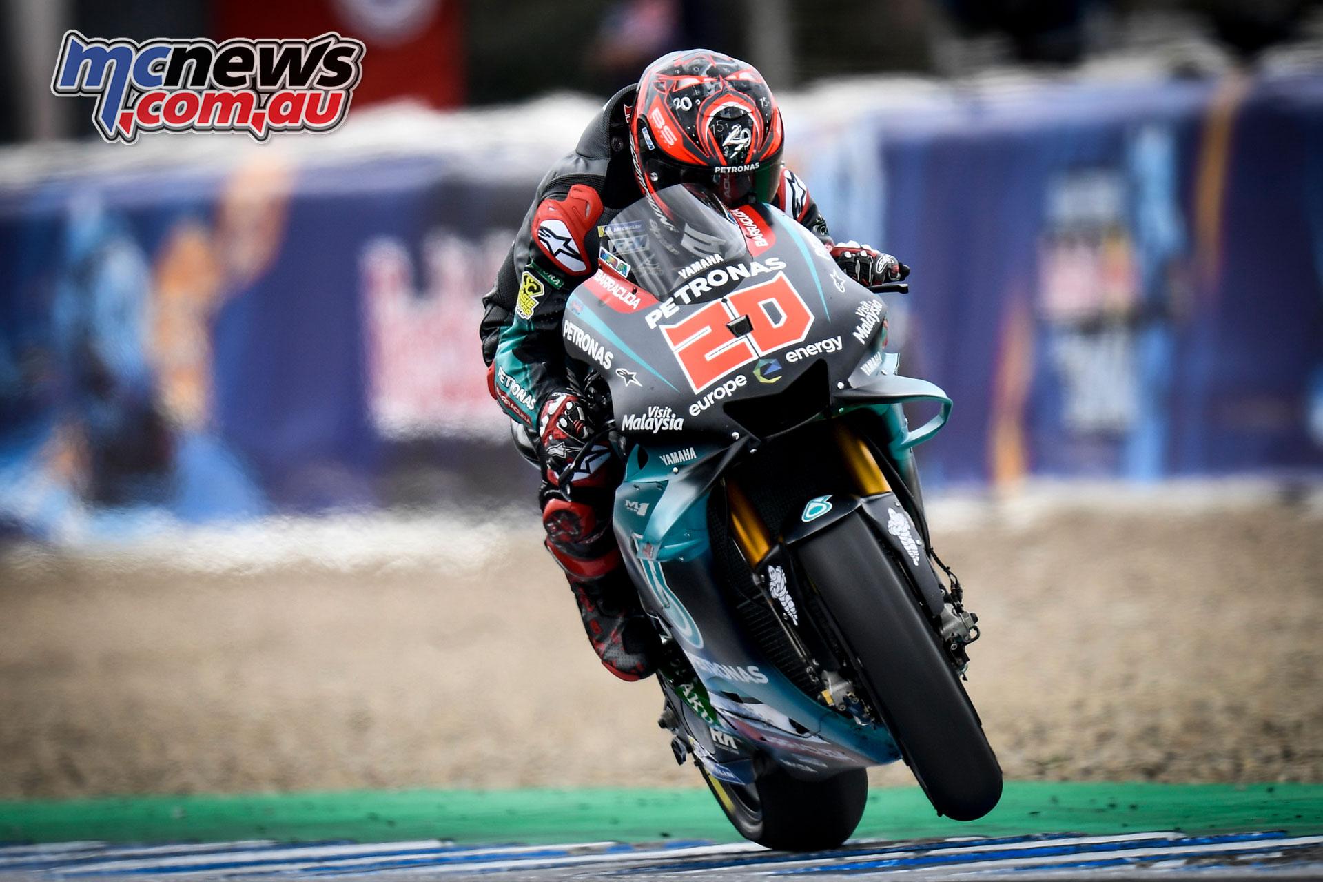 MotoGP Rnd Jerez Sat Fabio Quartararo
