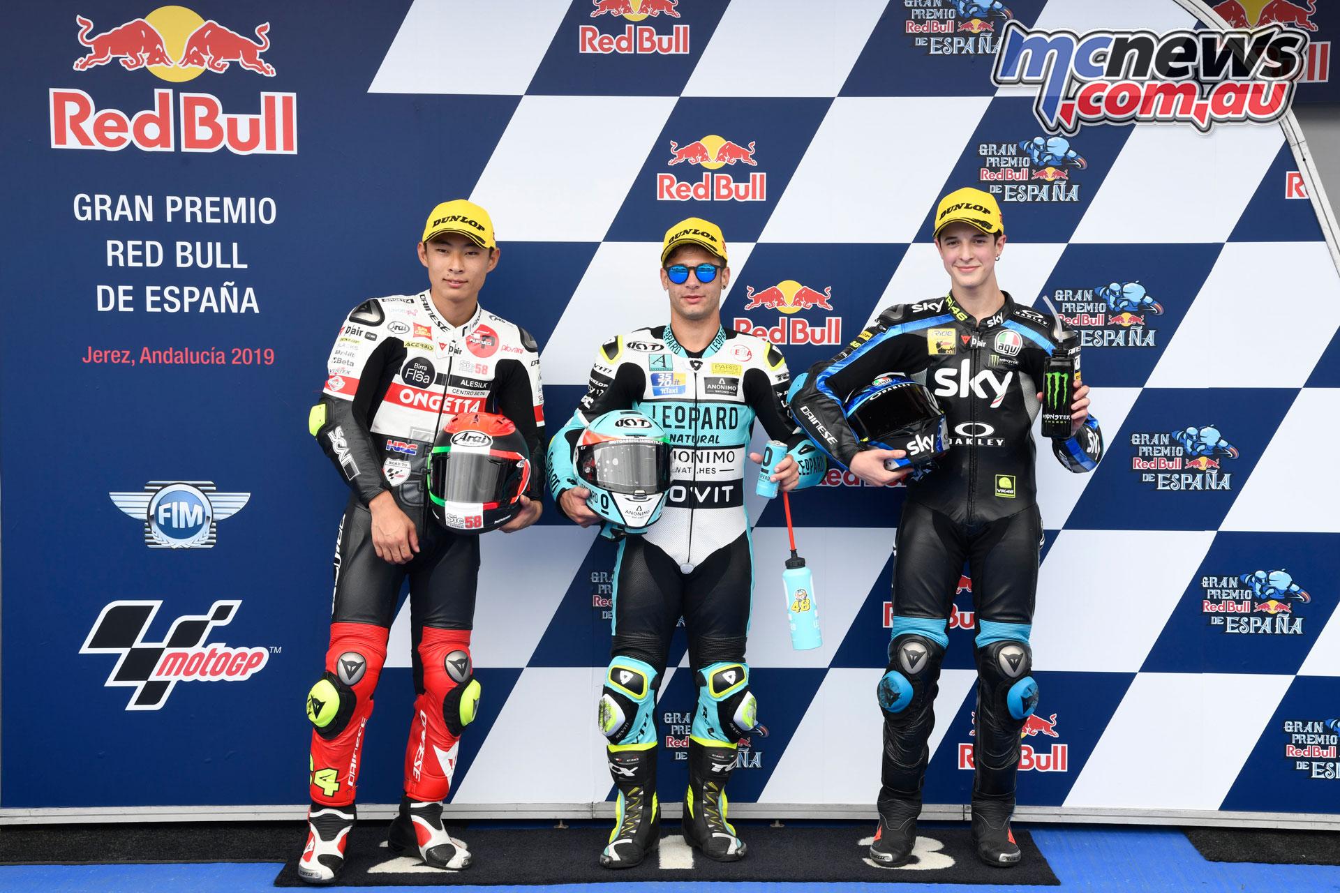 MotoGP Rnd Jerez Sat Moto Top