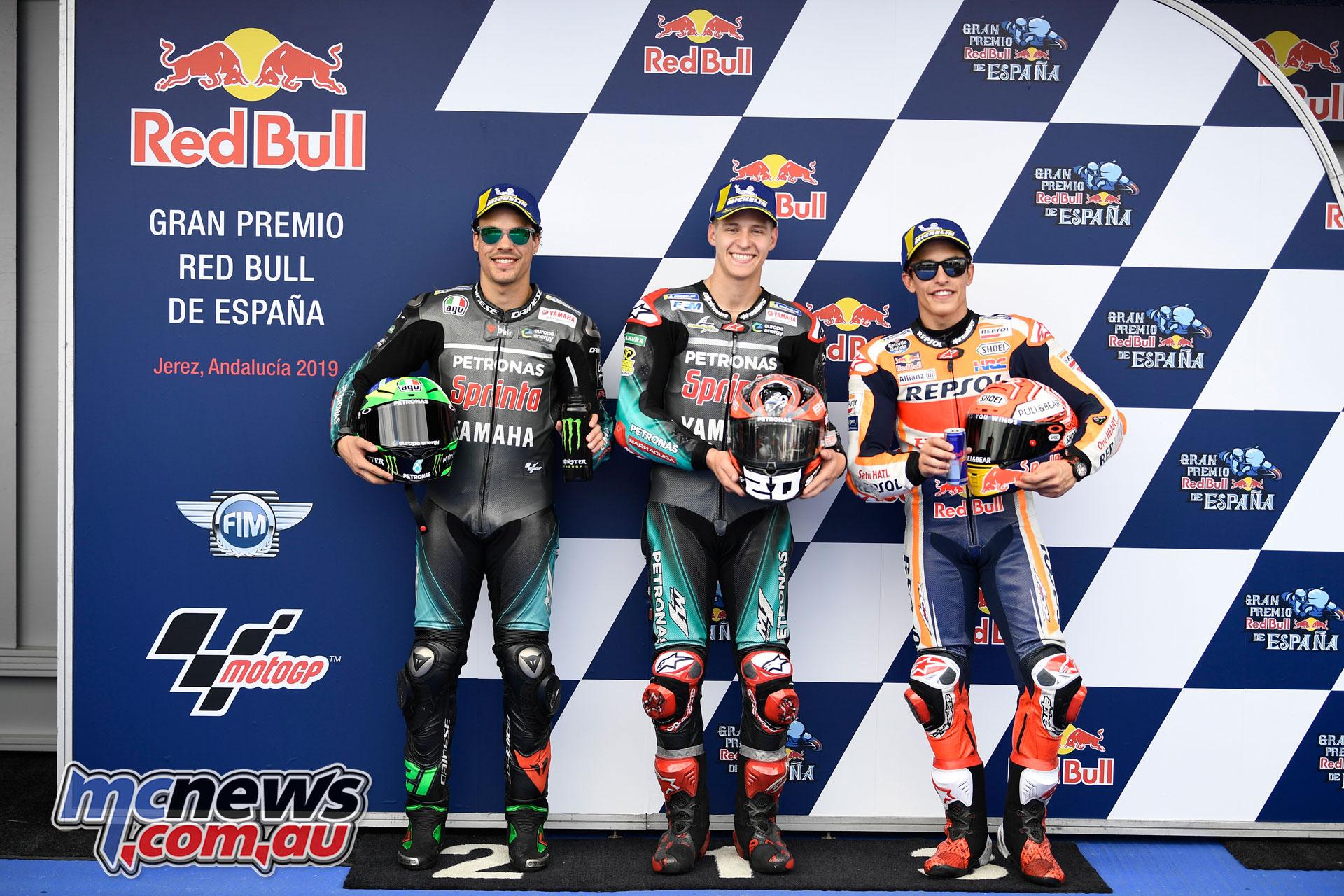 MotoGP Rnd Jerez Sat MotoGP Top