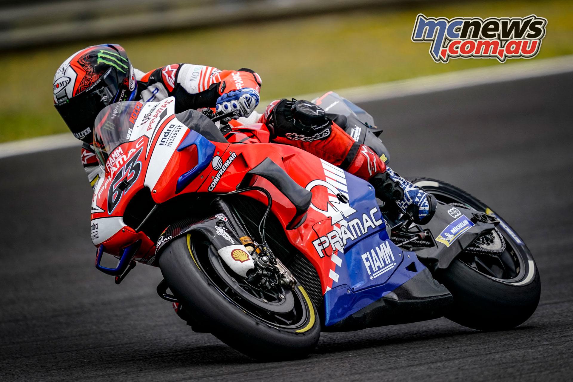 MotoGP Rnd Jerez Sat Pecco Bagnaia