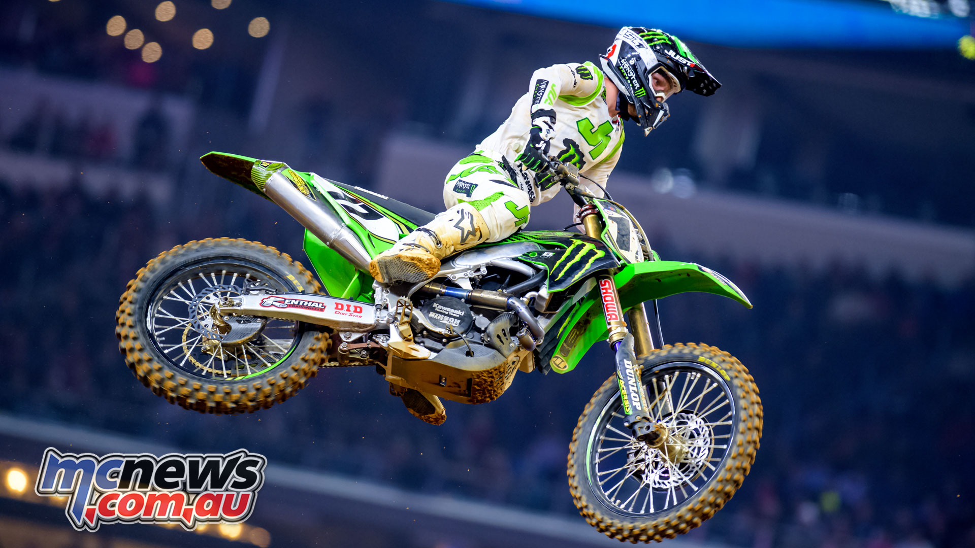 Rookie of the year Joey Savatgy World Supercross Championship