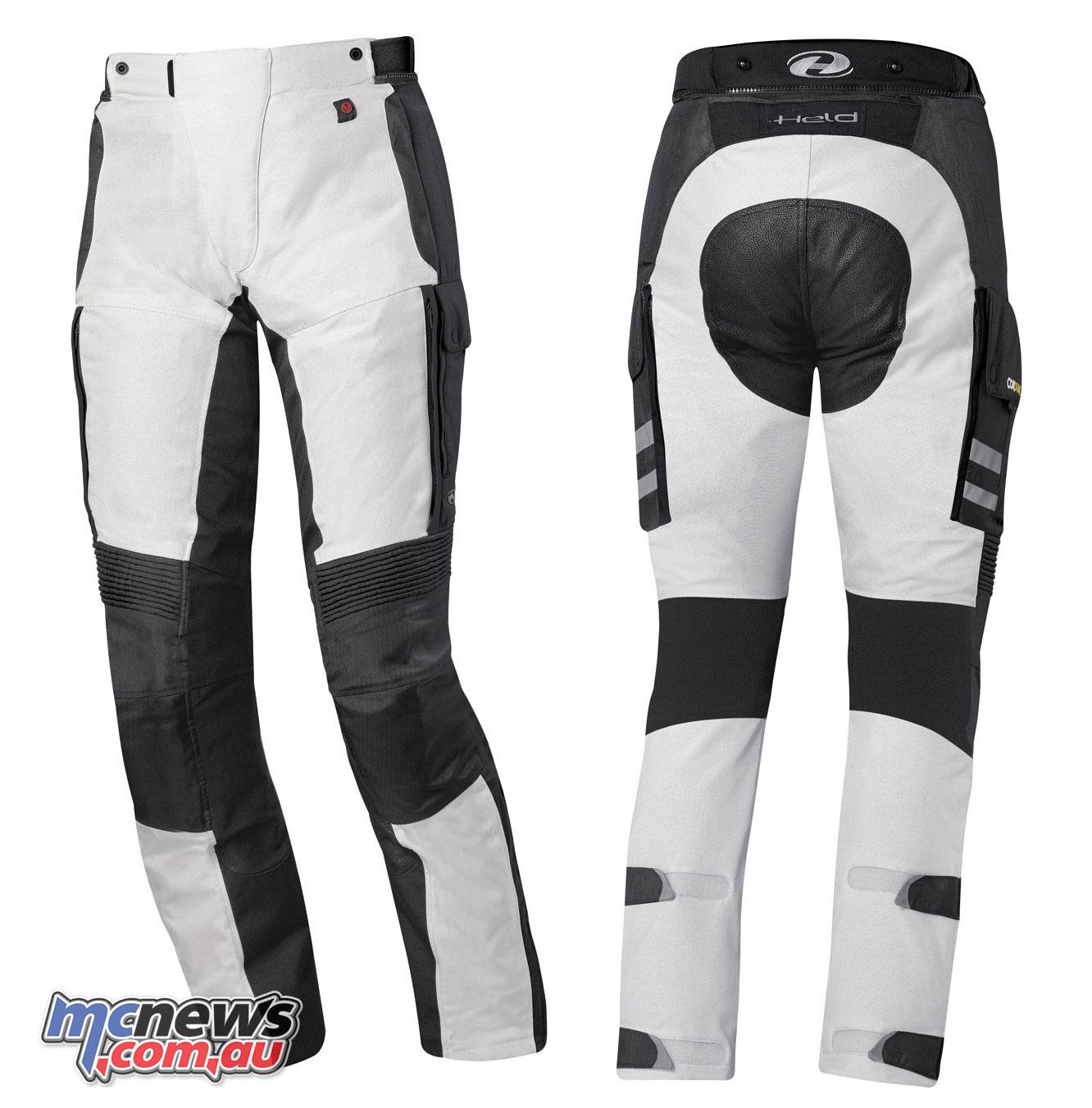 held torno ii gore tex pants grey black