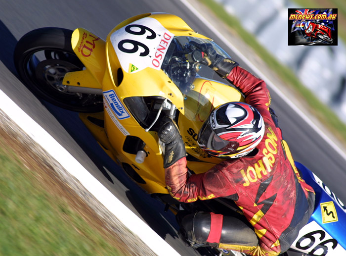 David Johnson GP Support Races