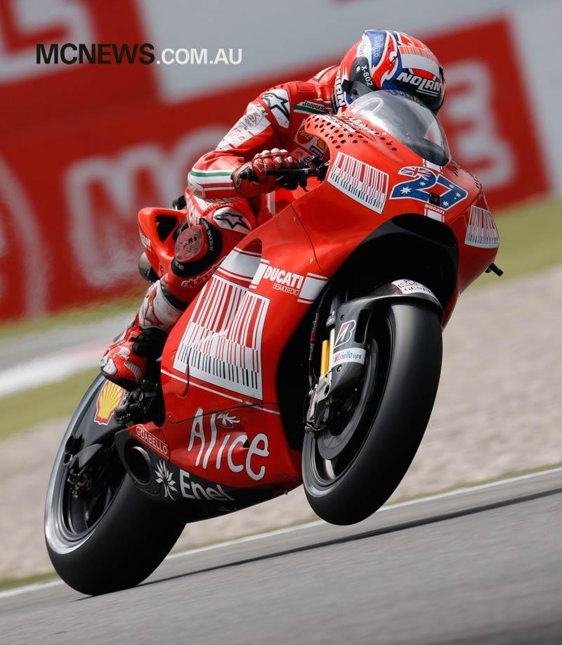 MotoGP Assen Stoner GP AN