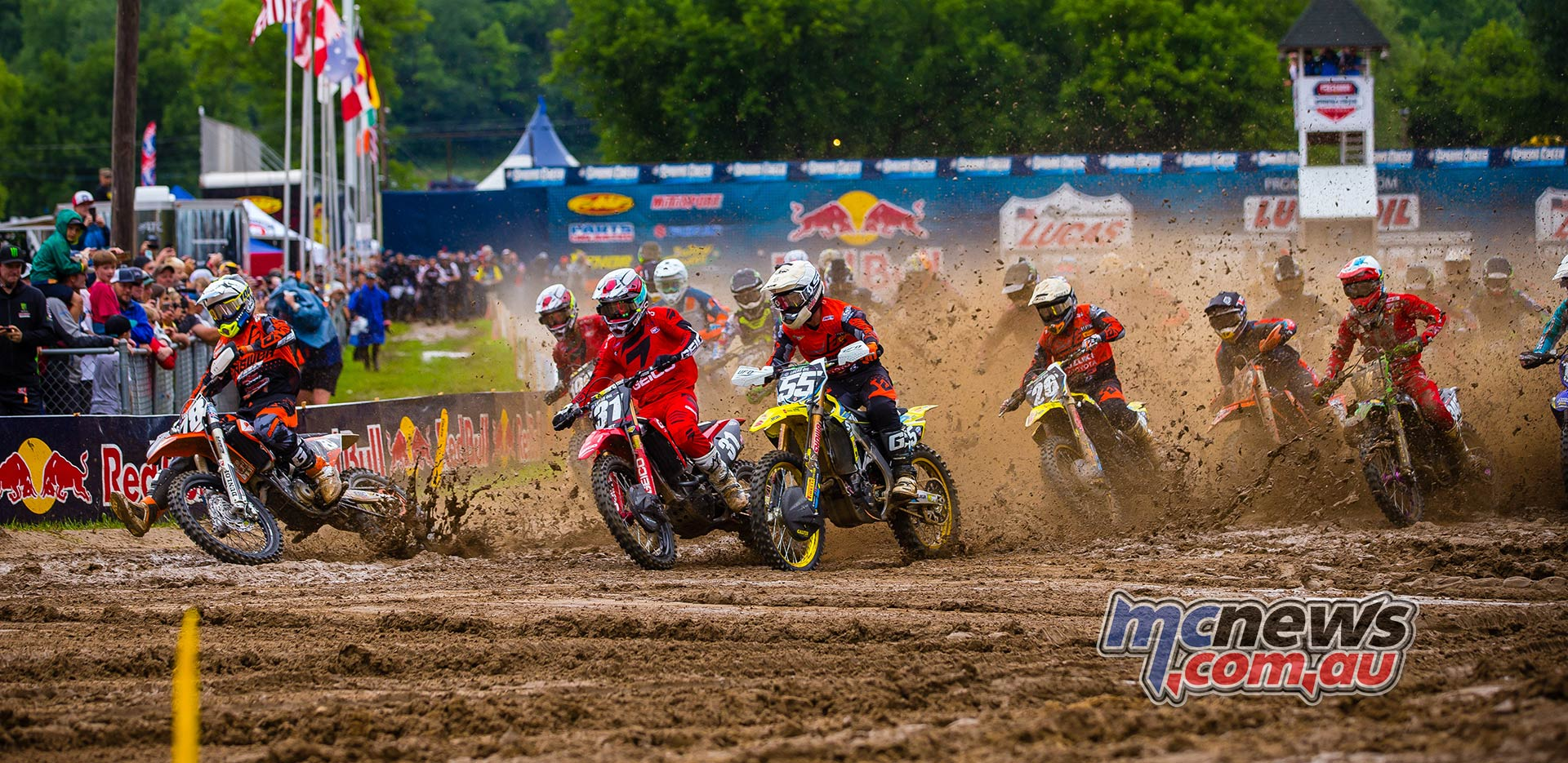 AMA MX SpringCreek Alves Hampshire Peters