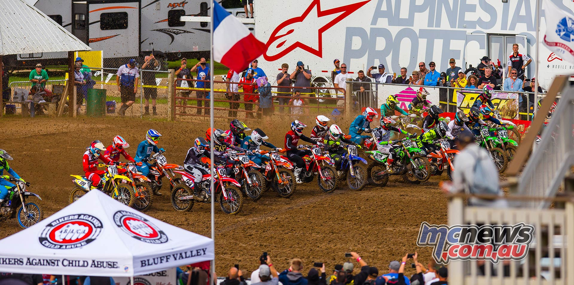 AMA MX SpringCreek Start