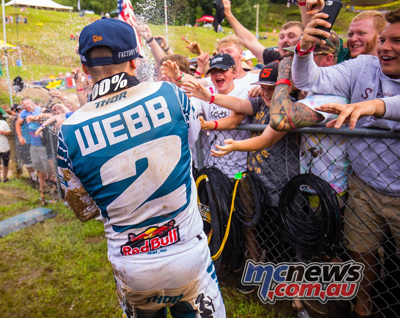 AMA MX SpringCreek Webb Crowd