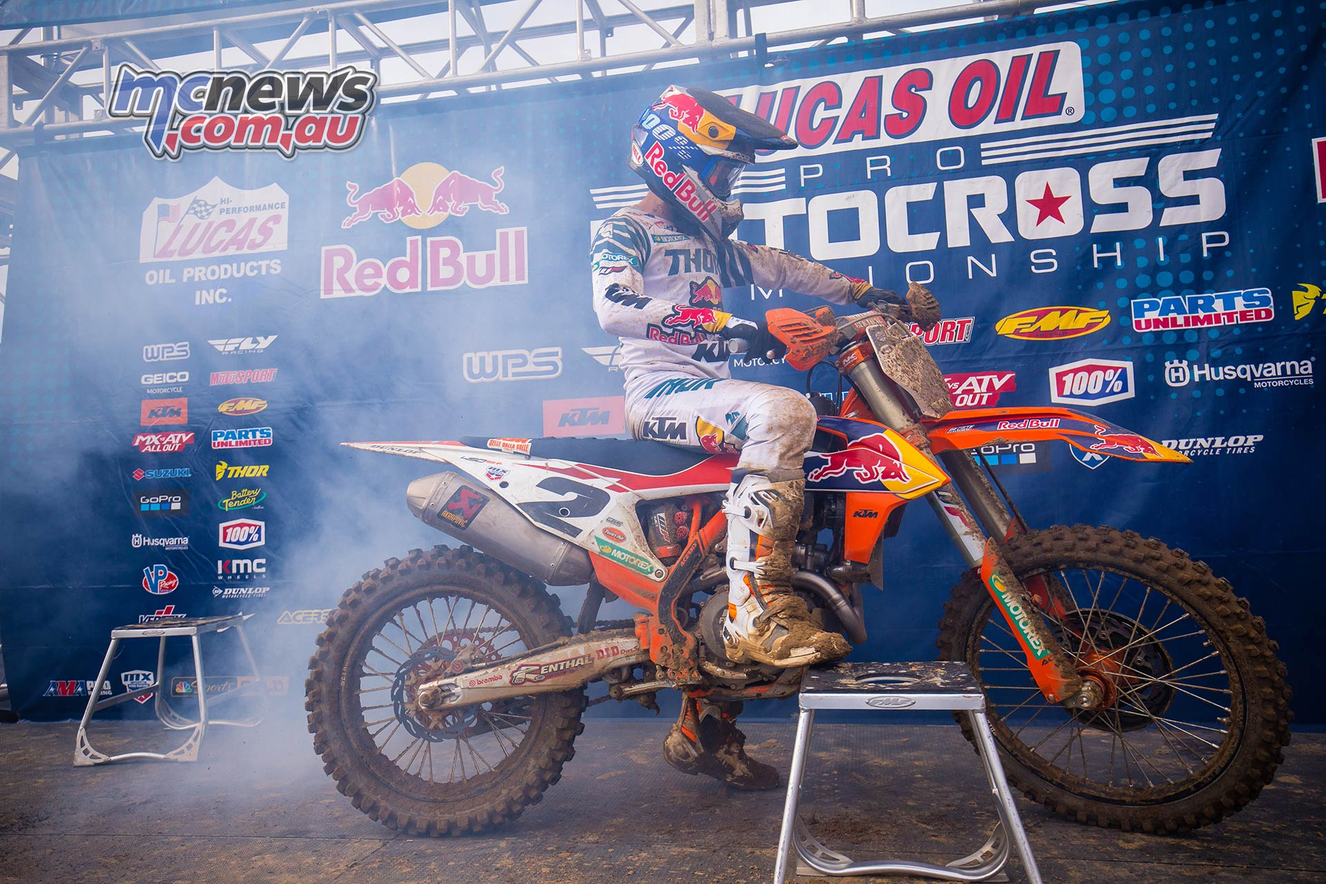 AMA MX SpringCreek Webb Smoky