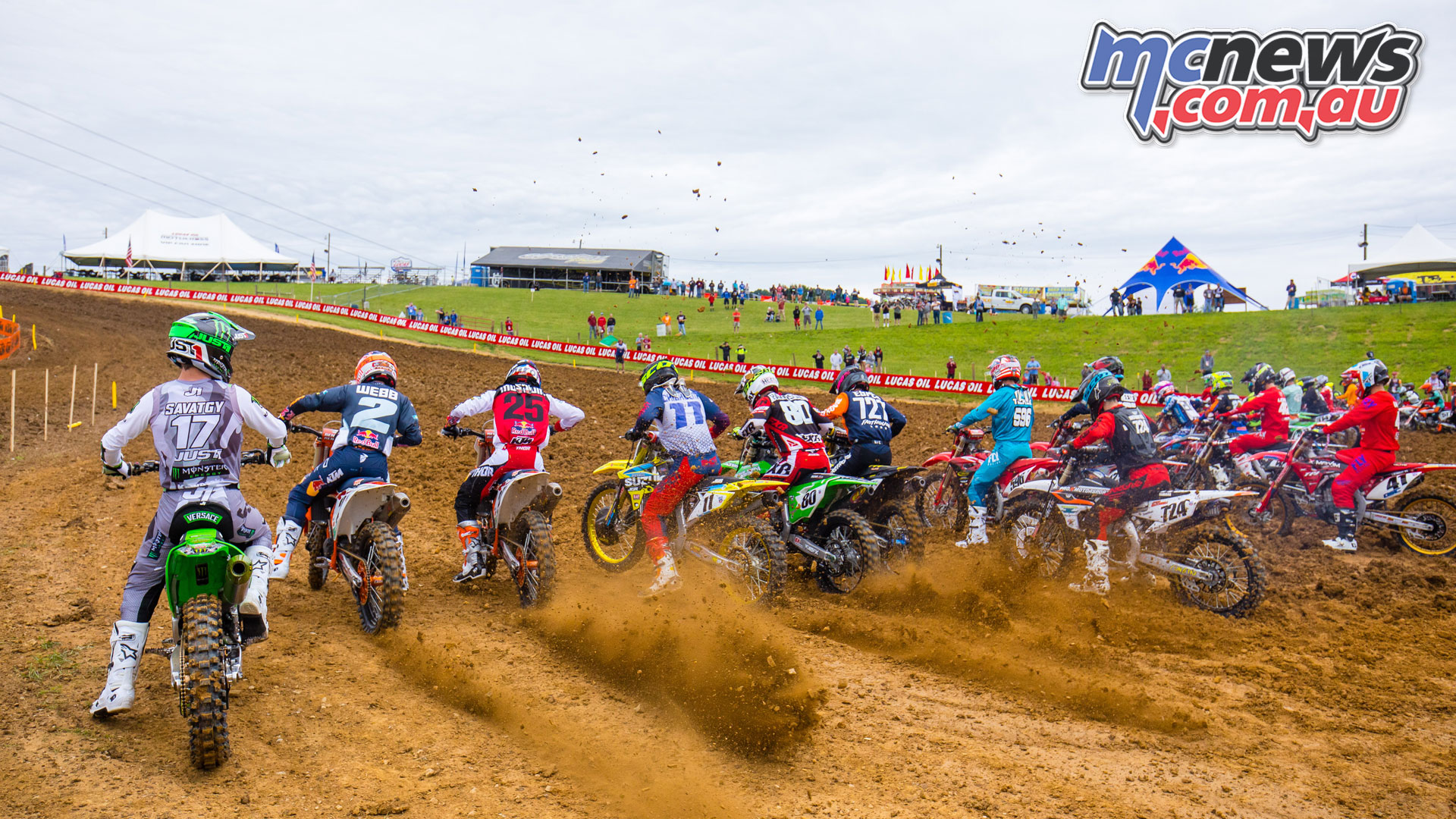 AMA MX Utah Rnd Start JK MX HighPoint