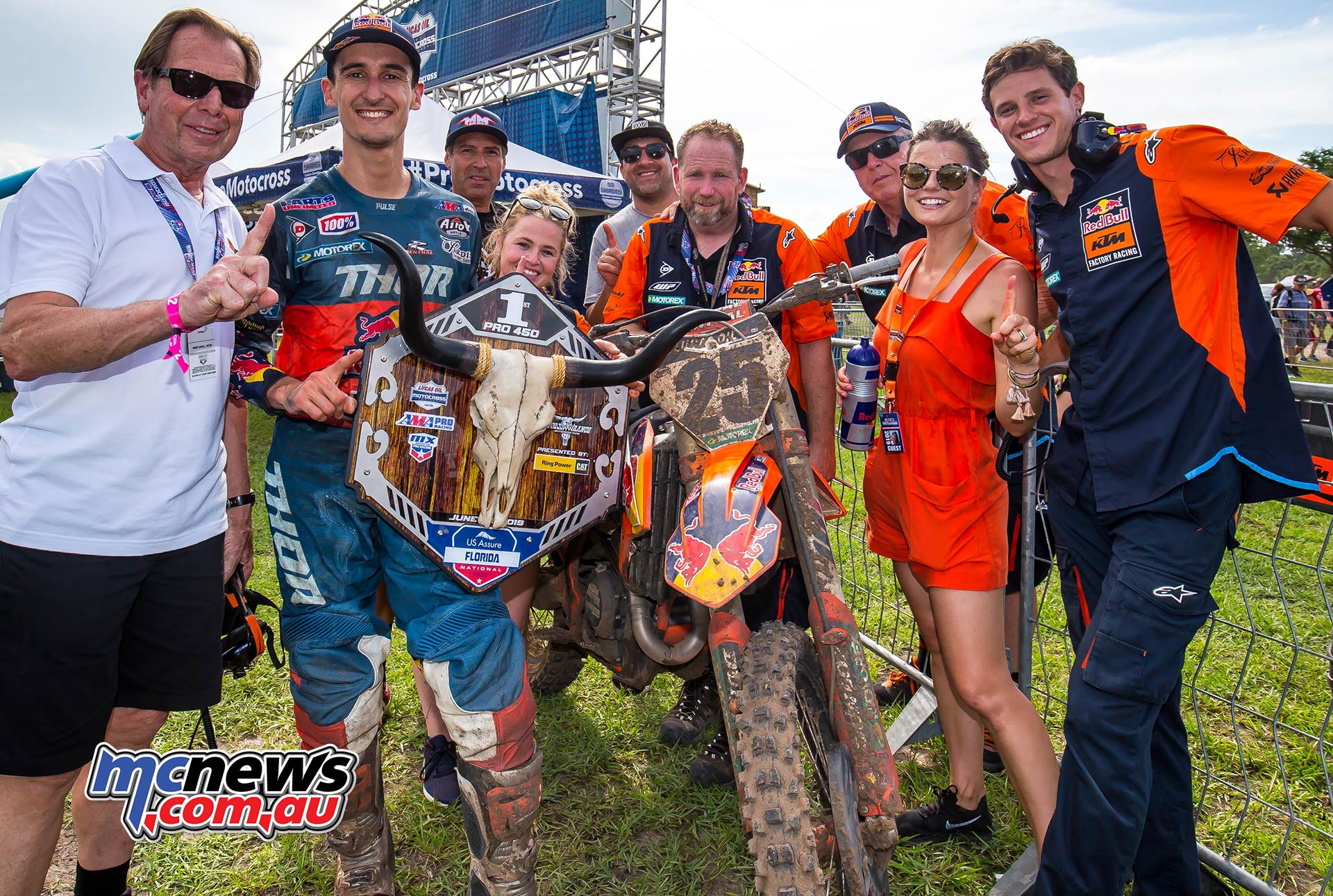AMA Pro Motocross Rnd Florida Musquin Trophy