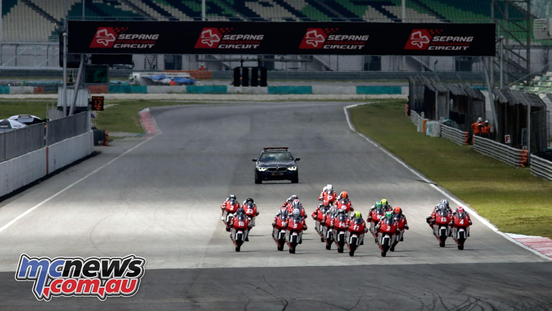 Asia Talent Cup Rnd Sepang Sun Race Start ZA