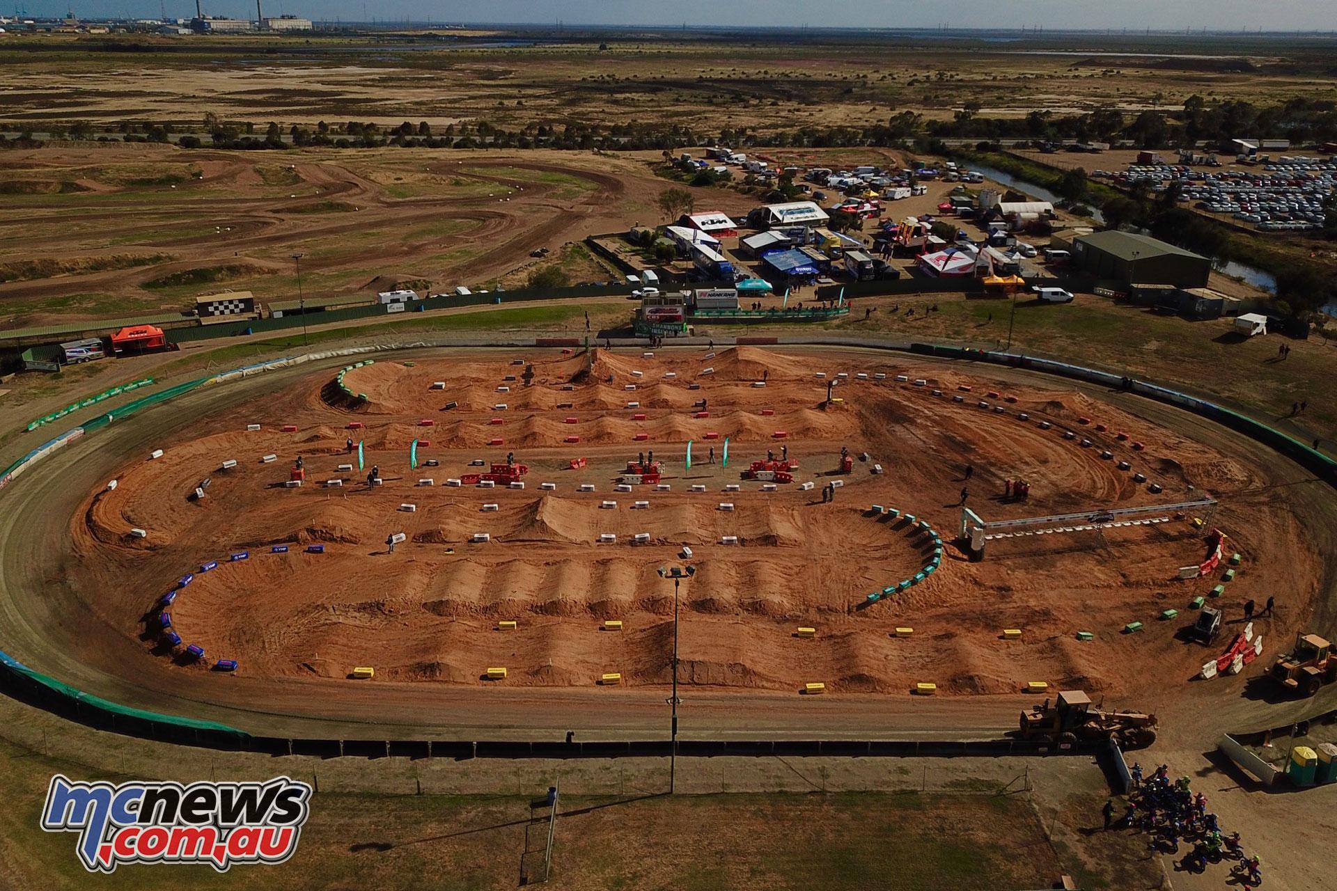 Australian Supercross Championship Gillman Speedway