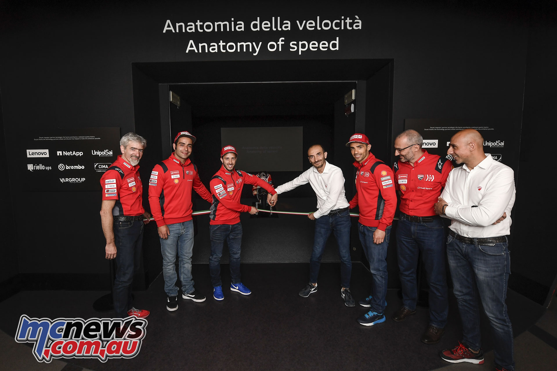 Ducati Museum Anatomy of Speed exhibition