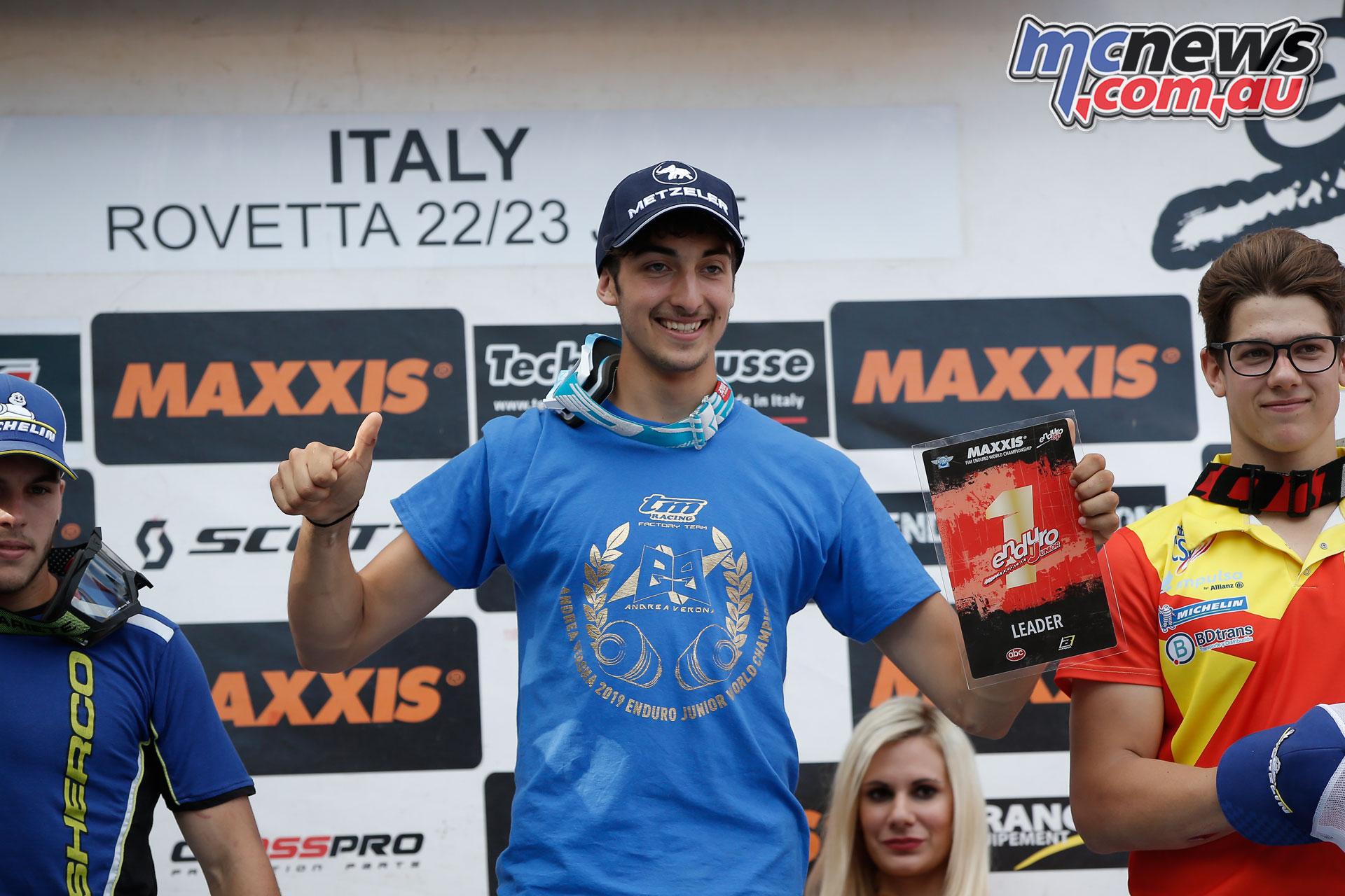 EnduroGP Italy Andrea Verona