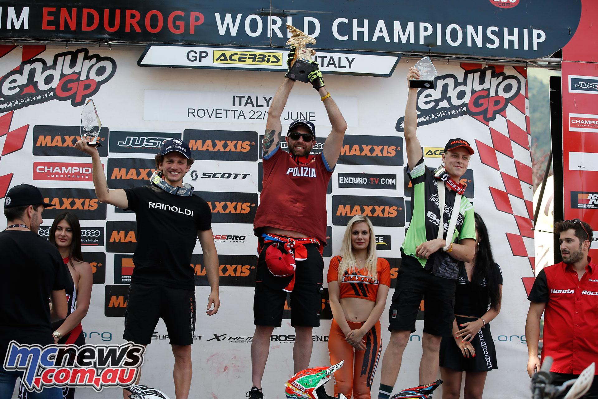 EnduroGP Italy podium e day