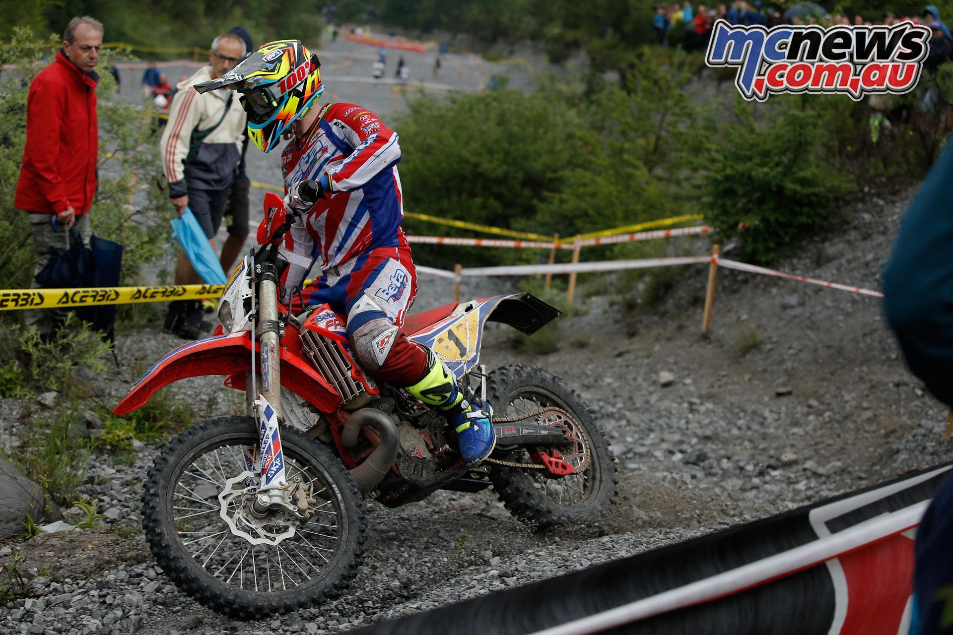 EnduroGP Rnd Italy Steve Holcombe