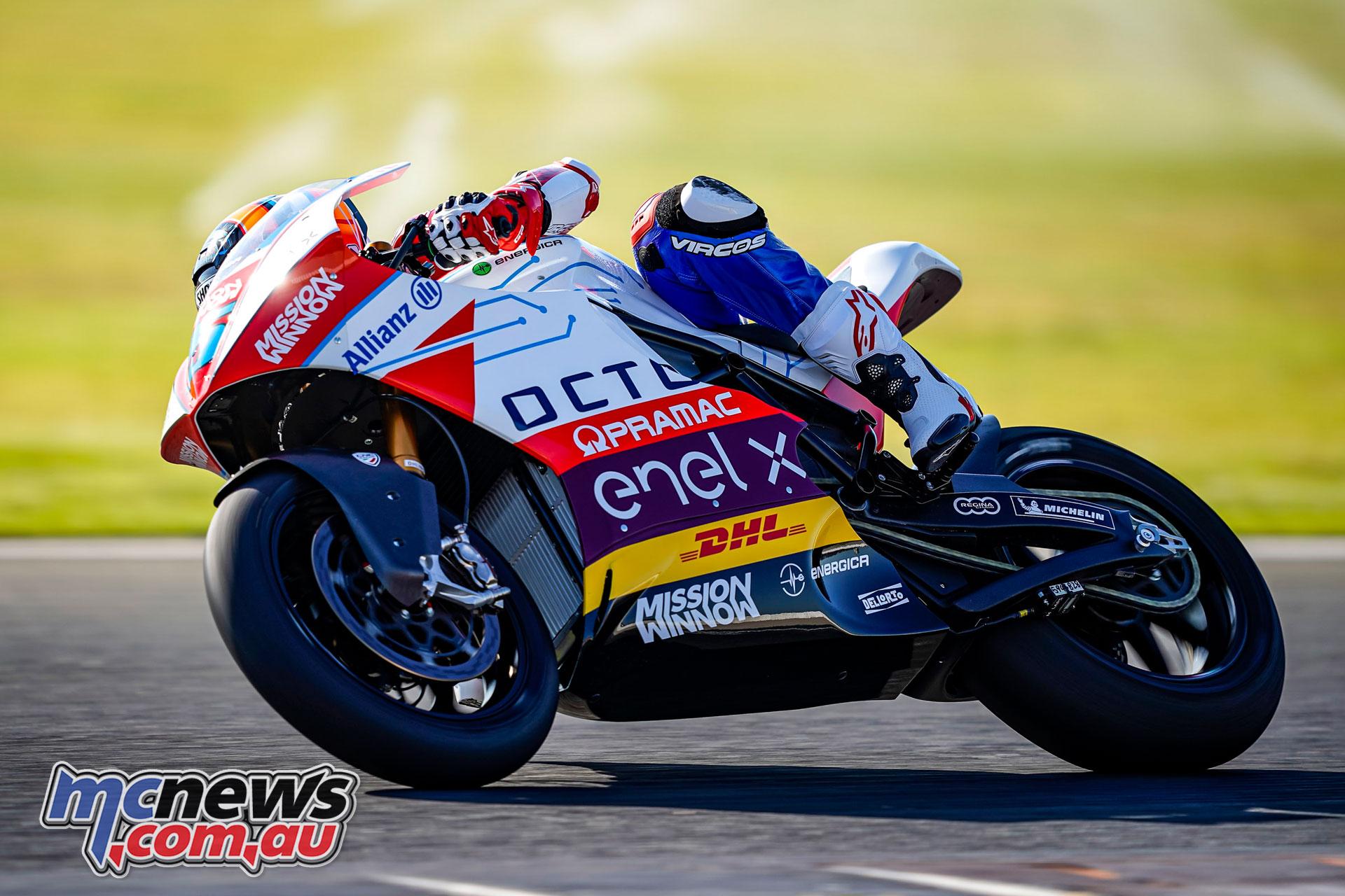 FIM MotoE World Cup Alex De Angelis