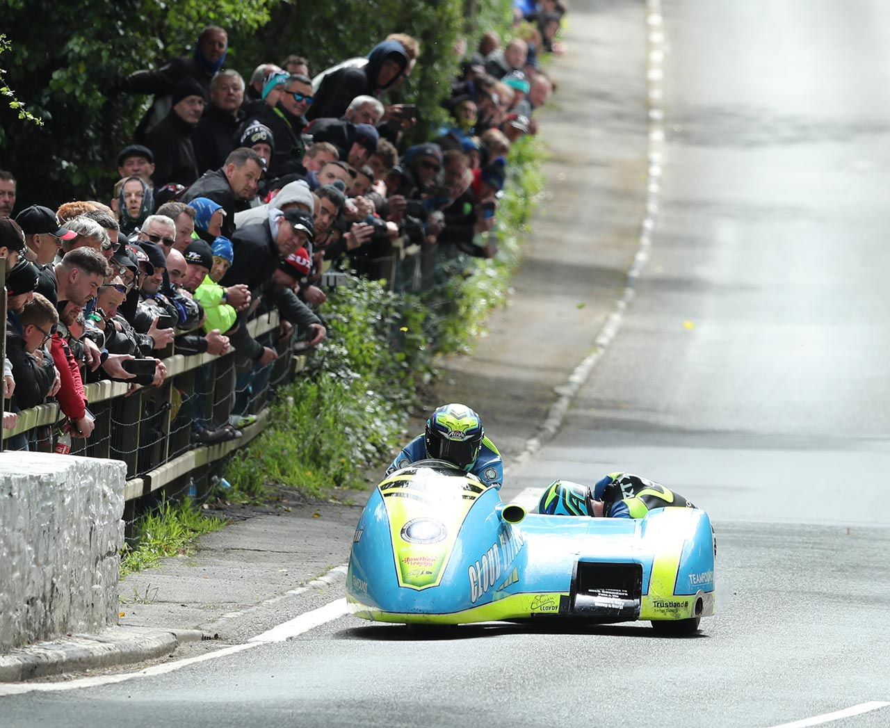 IOMTT Sidecar R Alan Founds Jake Lowther
