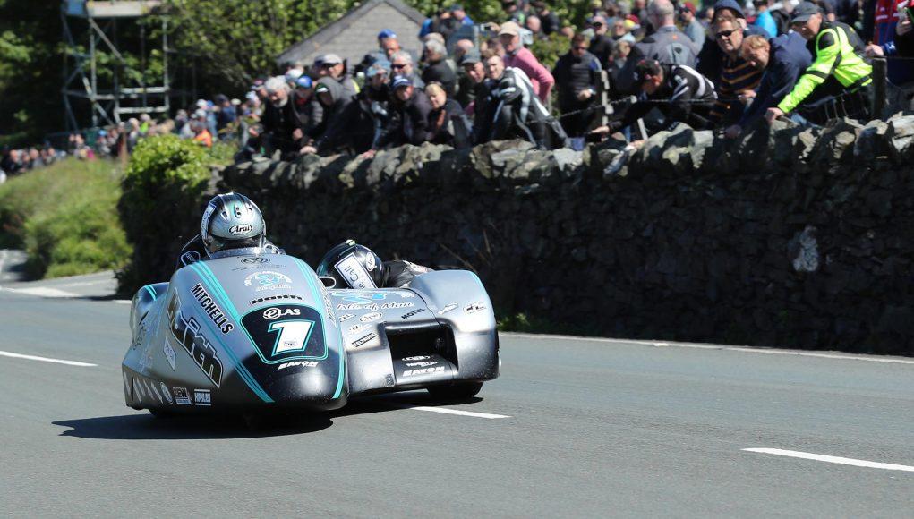 IOMTT Sidecar Race Birchalls