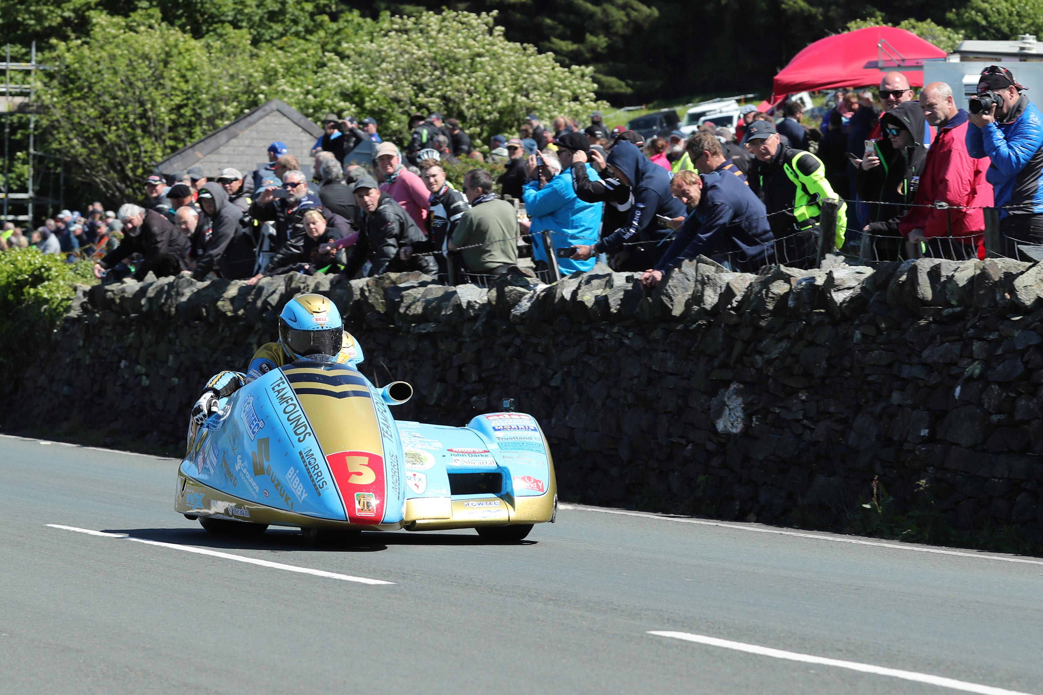 IOMTT Sidecar Race Founds Walmsley