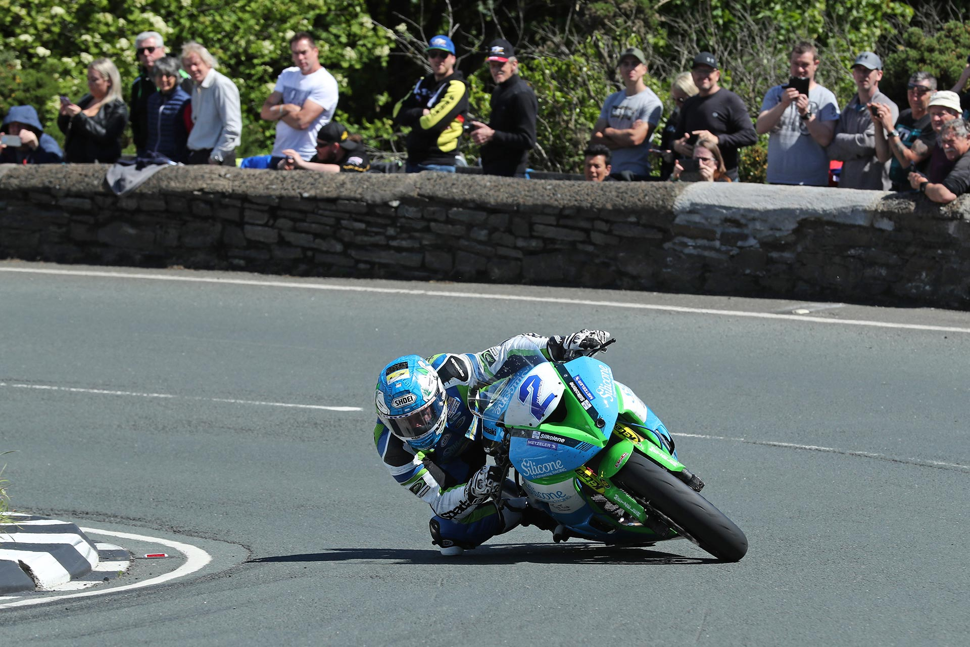 IOMTT Supersport Race Dean Harrison