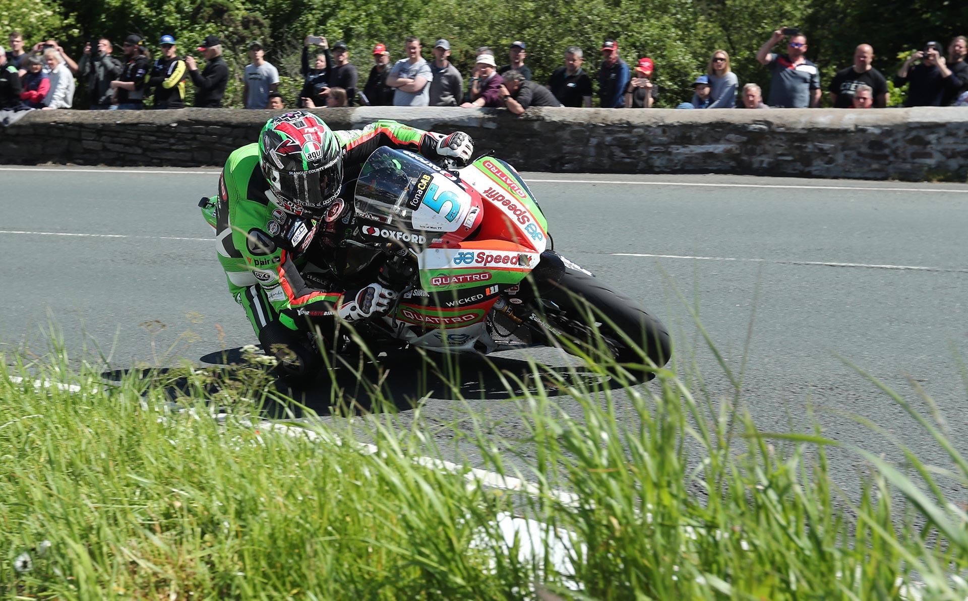 IOMTT Supersport Race James Hillier